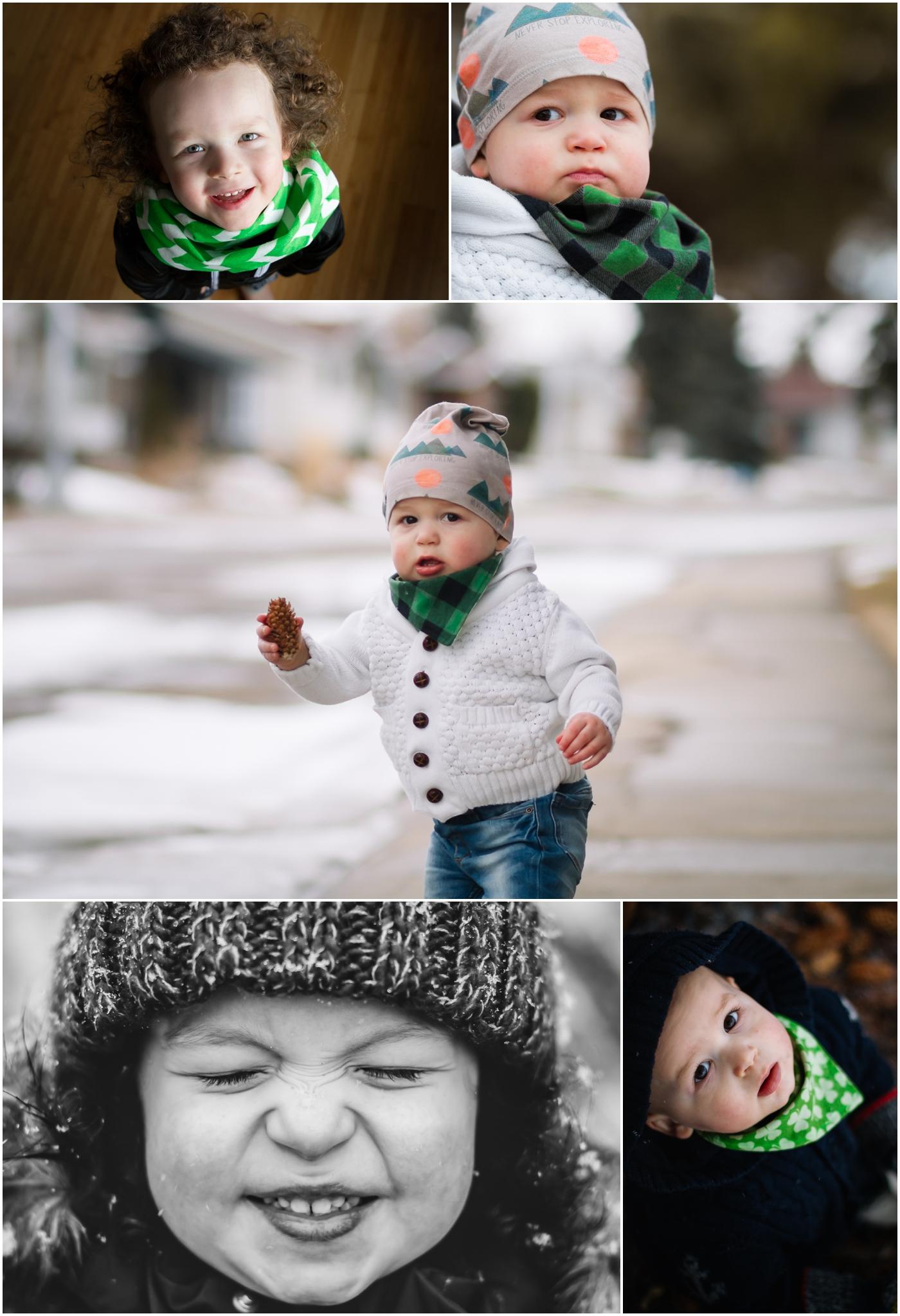 Edmonton Child and Family Photographer - Best of 2016 - Lifestyle Winter