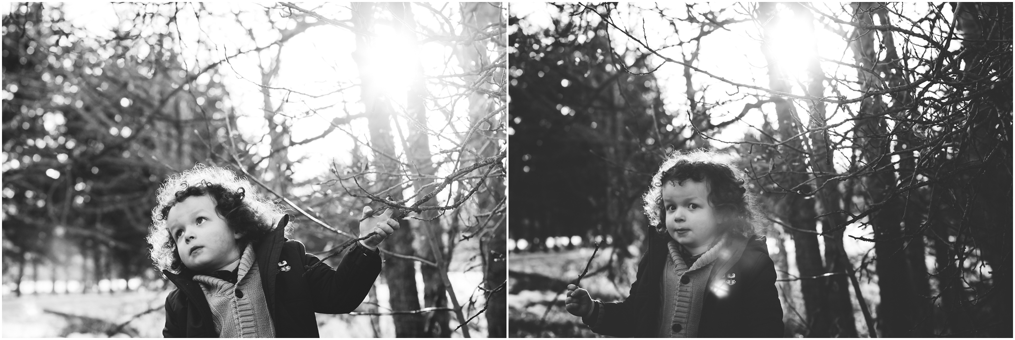 Edmonton Child Lifestyle Photographer - best of 2016 Black and White