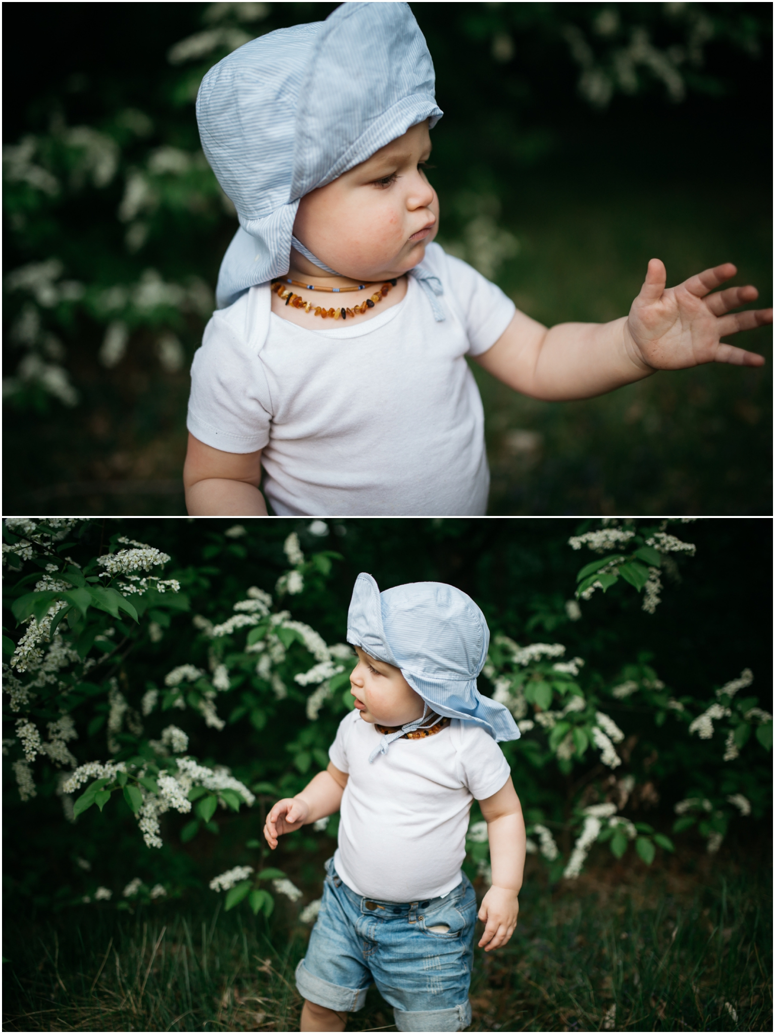 Edmonton Baby Photographer - Blossoms Best of 2016 - spring flowers toddler