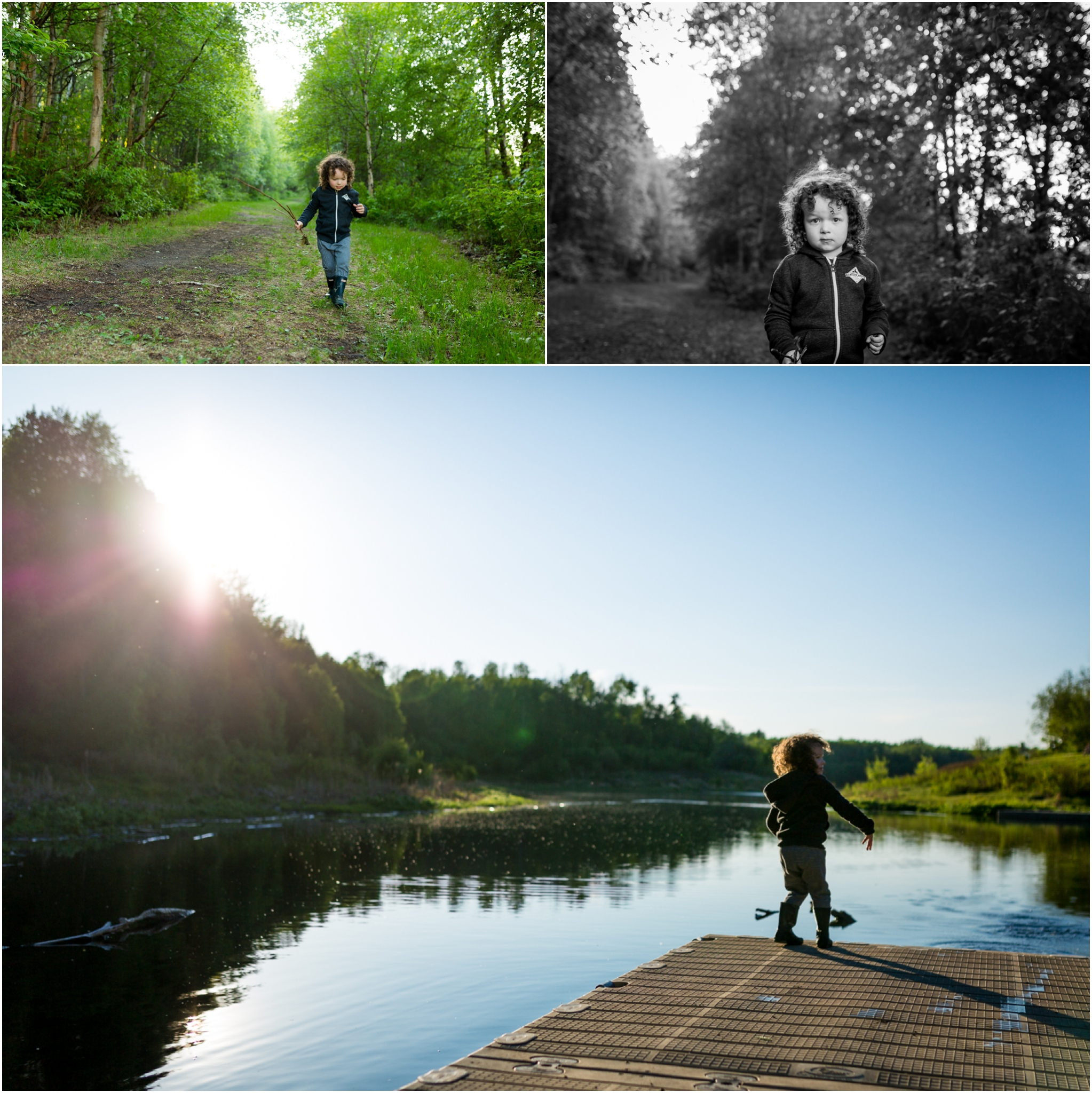 Edmonton Family Photographer - Best of 2016 - A day at the Lake
