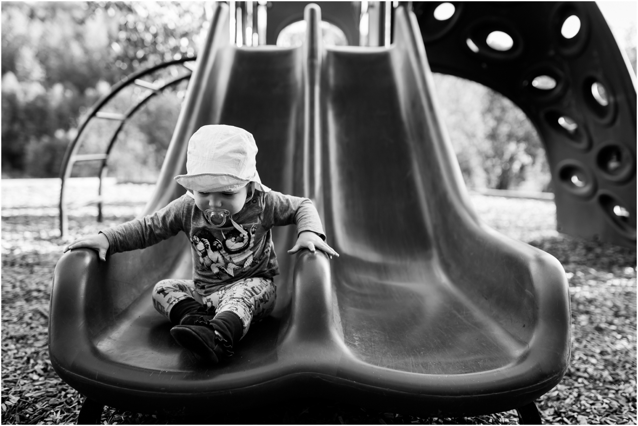 Edmonton Lifestyle Child Photographer - Playground - Slide - Best of 2016
