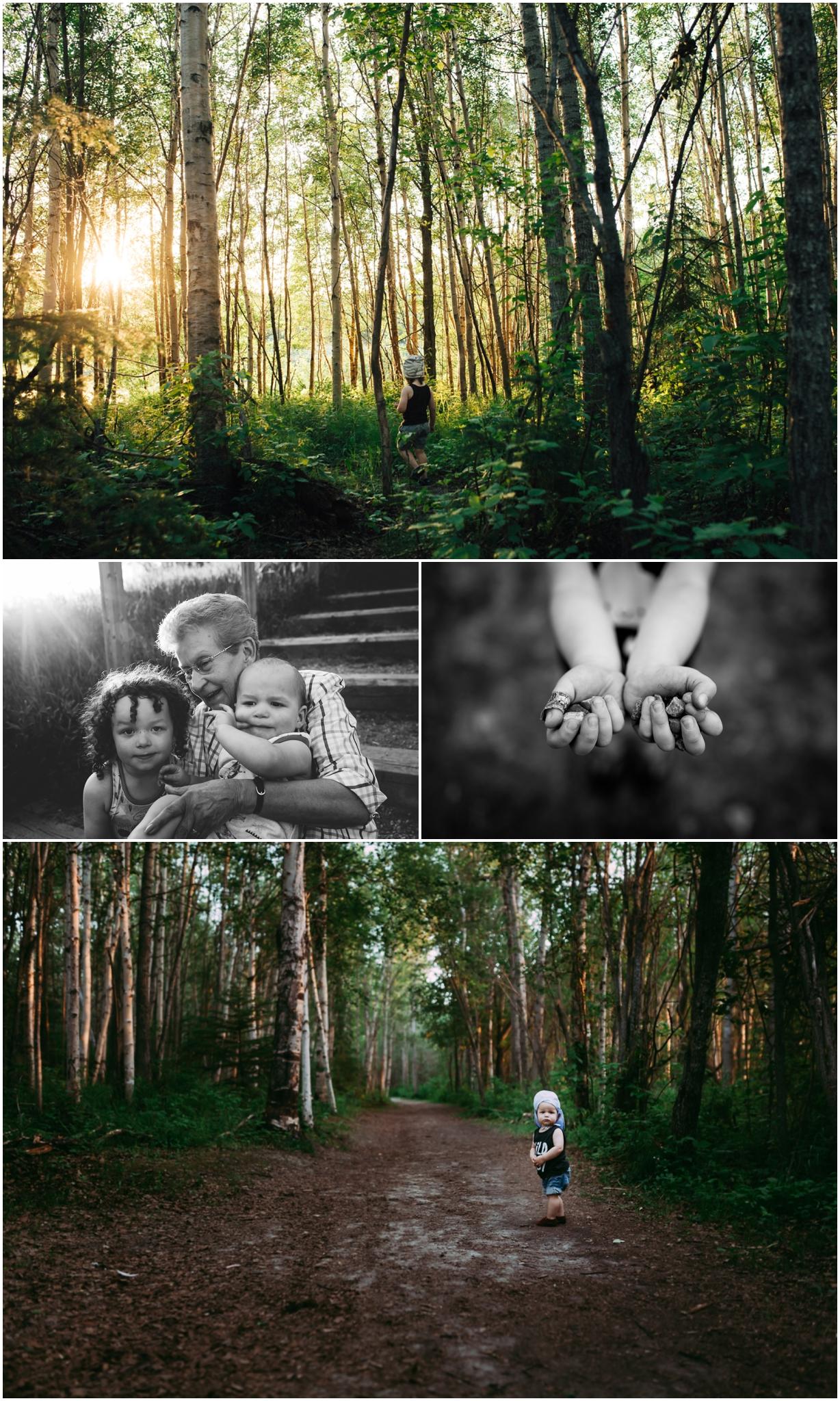Edmonton Lifestyle Photographer - Best of 2016 - Great Grandma - Family Time Lake Adventures