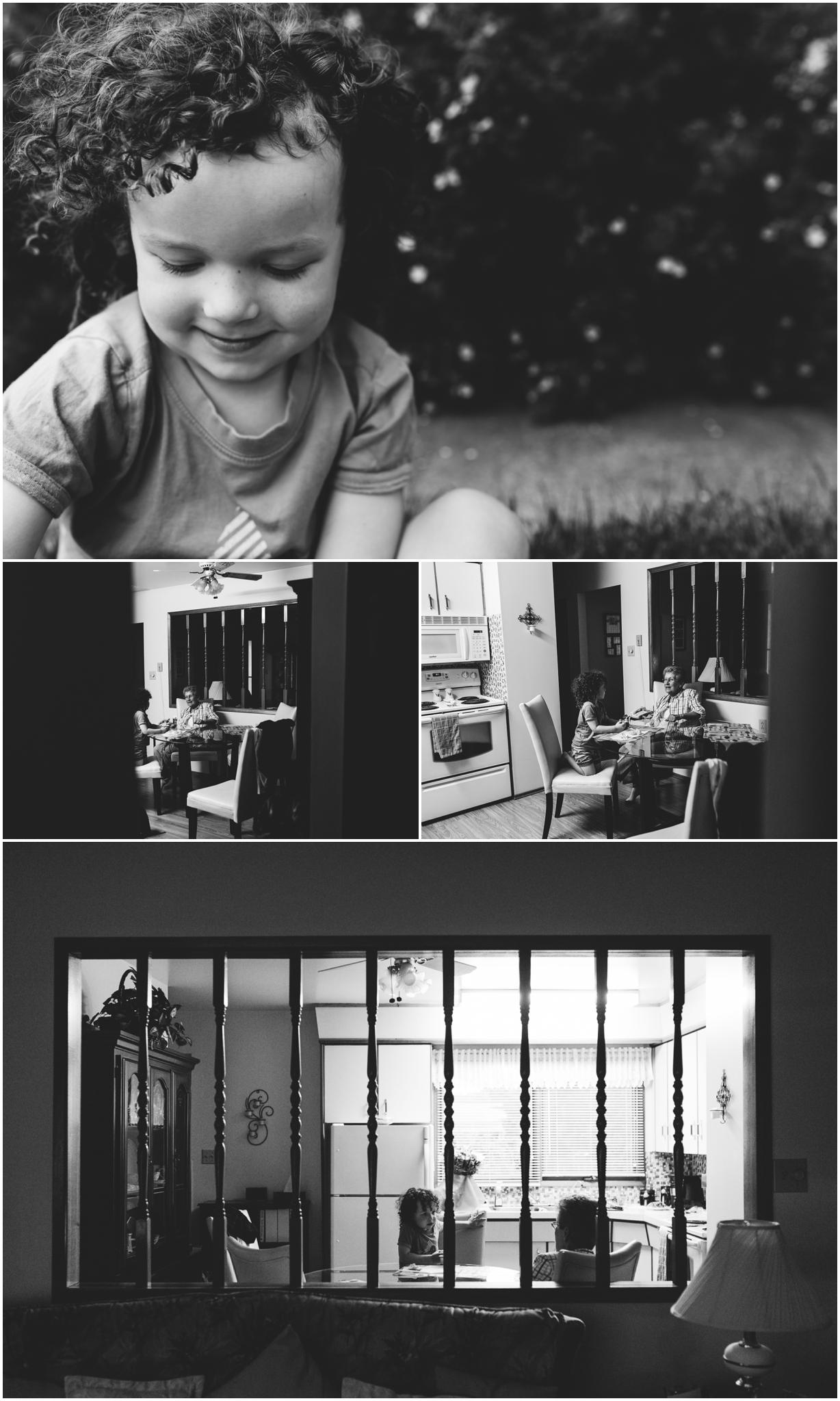 Edmonton Lifestyle Photographer - Great Grandma Visits - Birthday - YEG