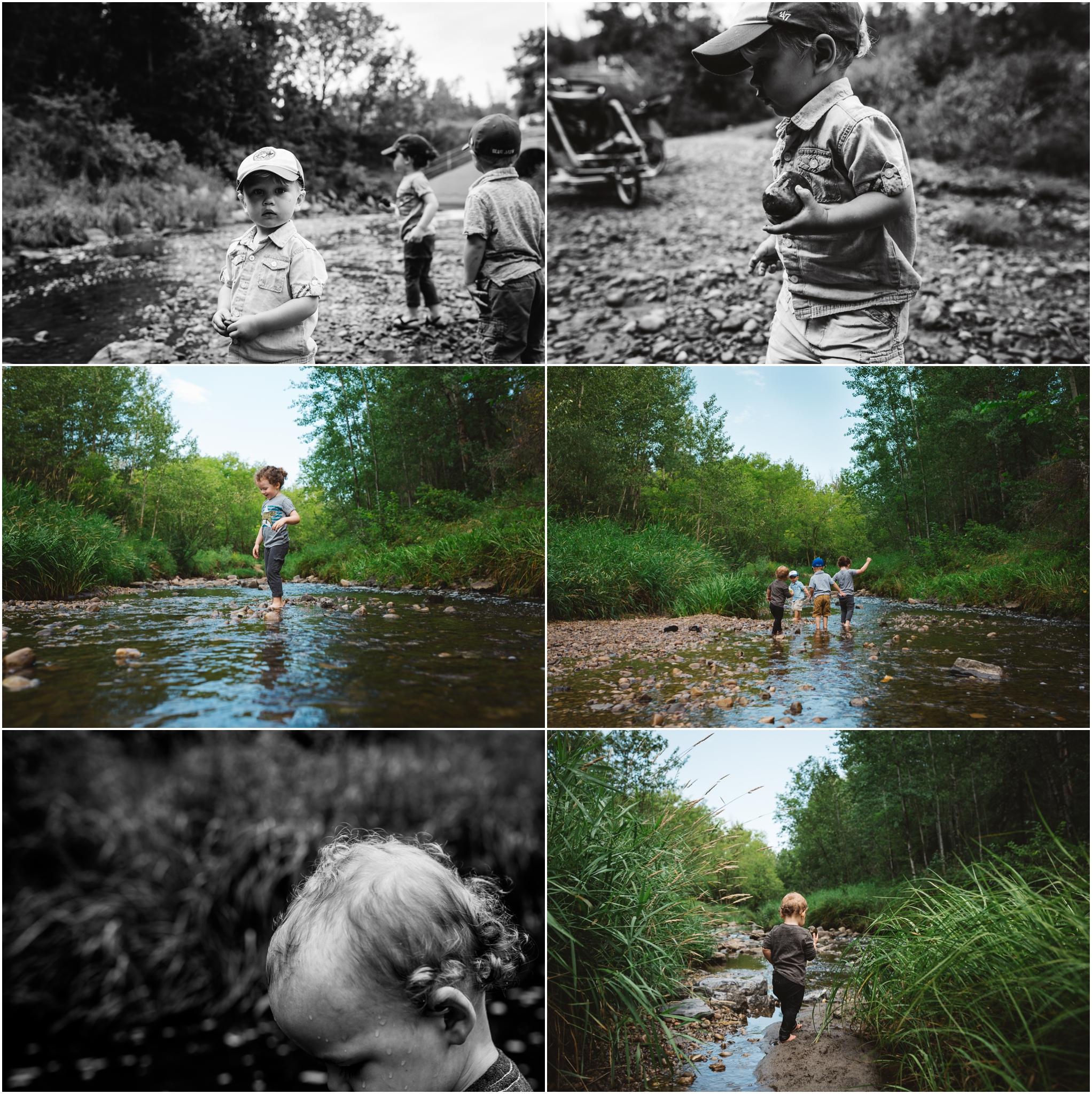Edmonton Lifestyle Photographer - Mill Creek Ravine - Best of 2016 - Best friends - Boys - Life with boys - YEG Summer