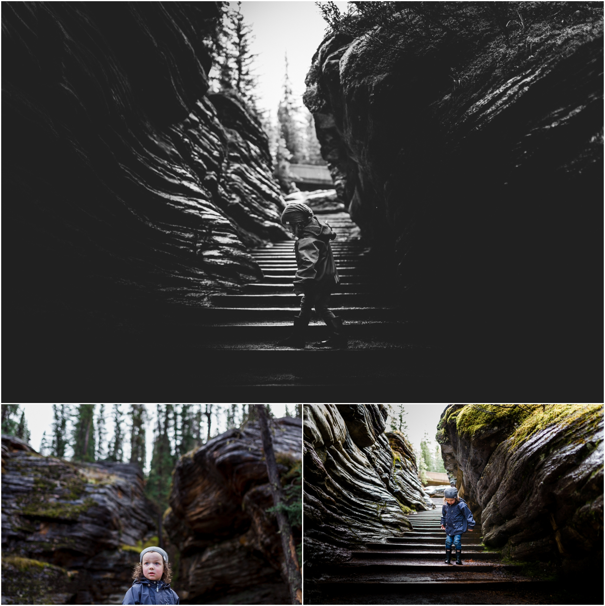 Edmonton Family Photographer - Best of 2016 - Jasper Alberta - Athabasca Falls - YEG