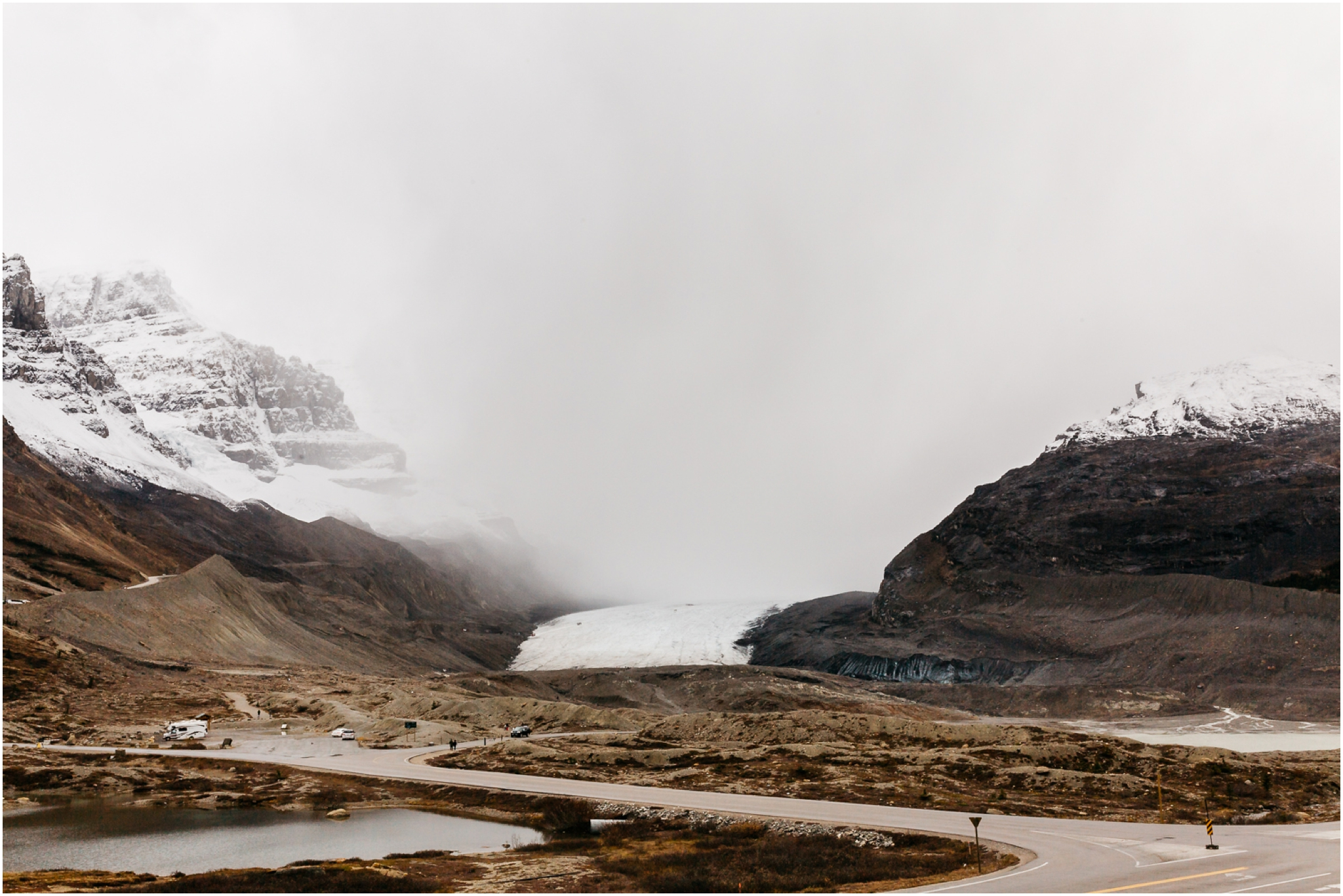Edmonton Landscape Photography - Jasper Alberta - Columbia Icefields - icefields parkway - glacier adventure