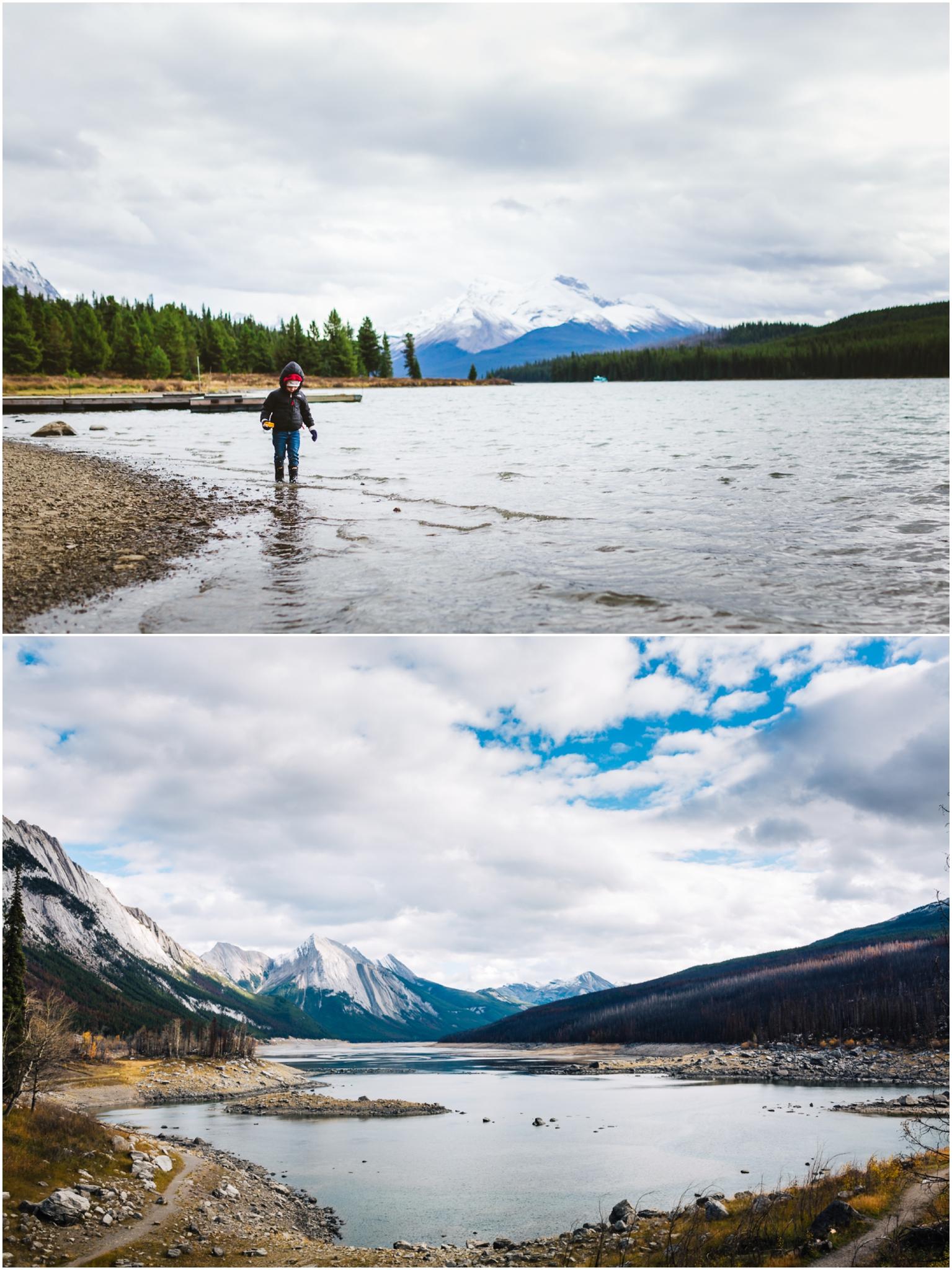 Edmonton Travel Photographer - Best of 2016 - Maligne Lake - Medicine Lake - October - Rocky Mountains - Explore Alberta - Travel Alberta
