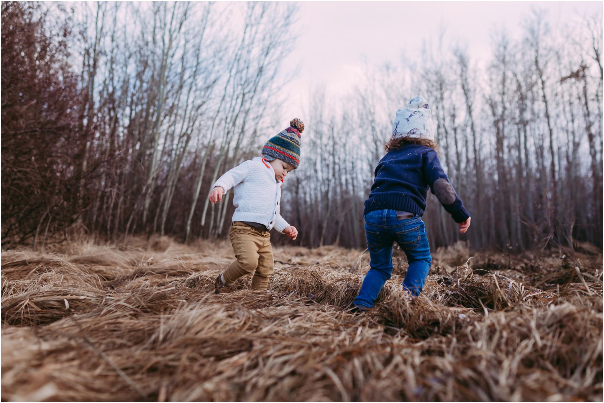 Edmonton Lifestyle Photographer - Best of 2016 - Autumn - Brothers - Outdoor Adventure - YEG