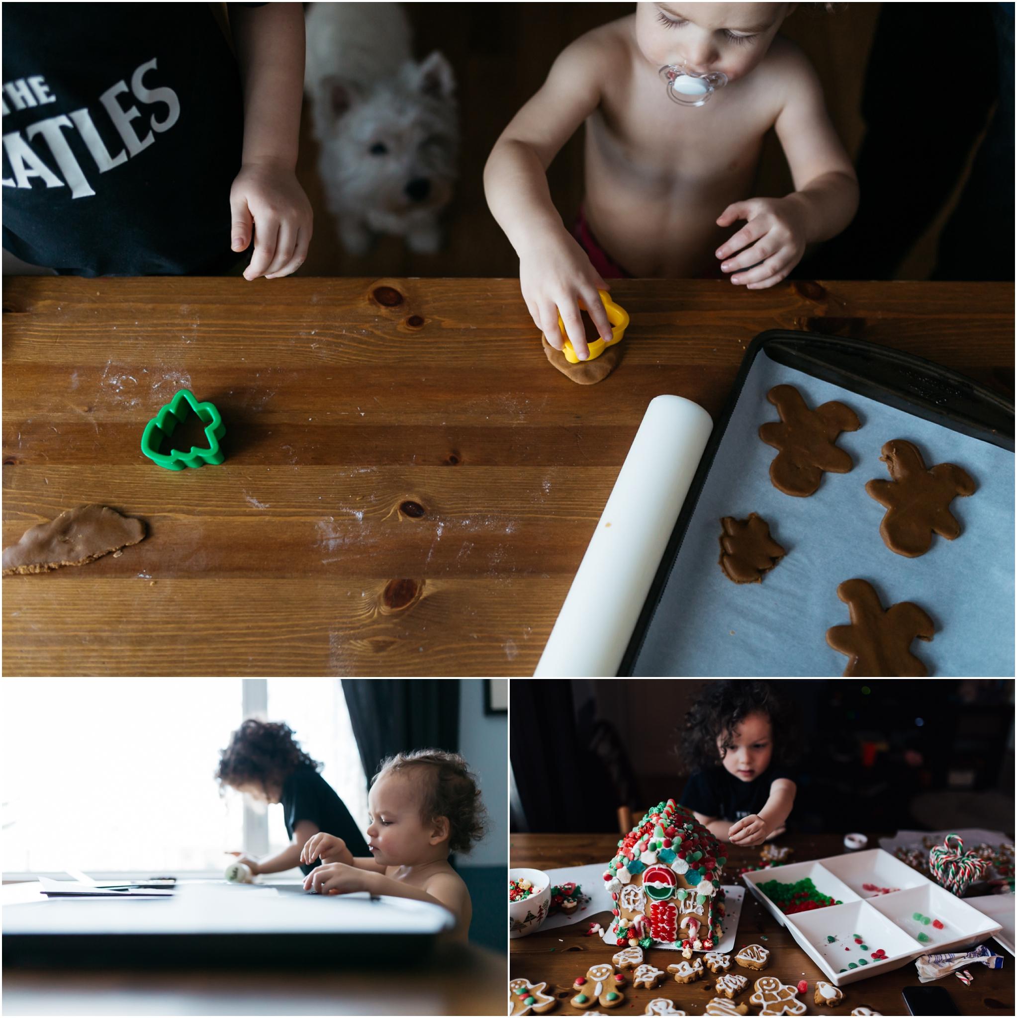 Edmonton Documentary Photographer - Best of 2016 - Cookie Making Decorating - Christmas - Cookies - Children - Holiday Baking - YEG