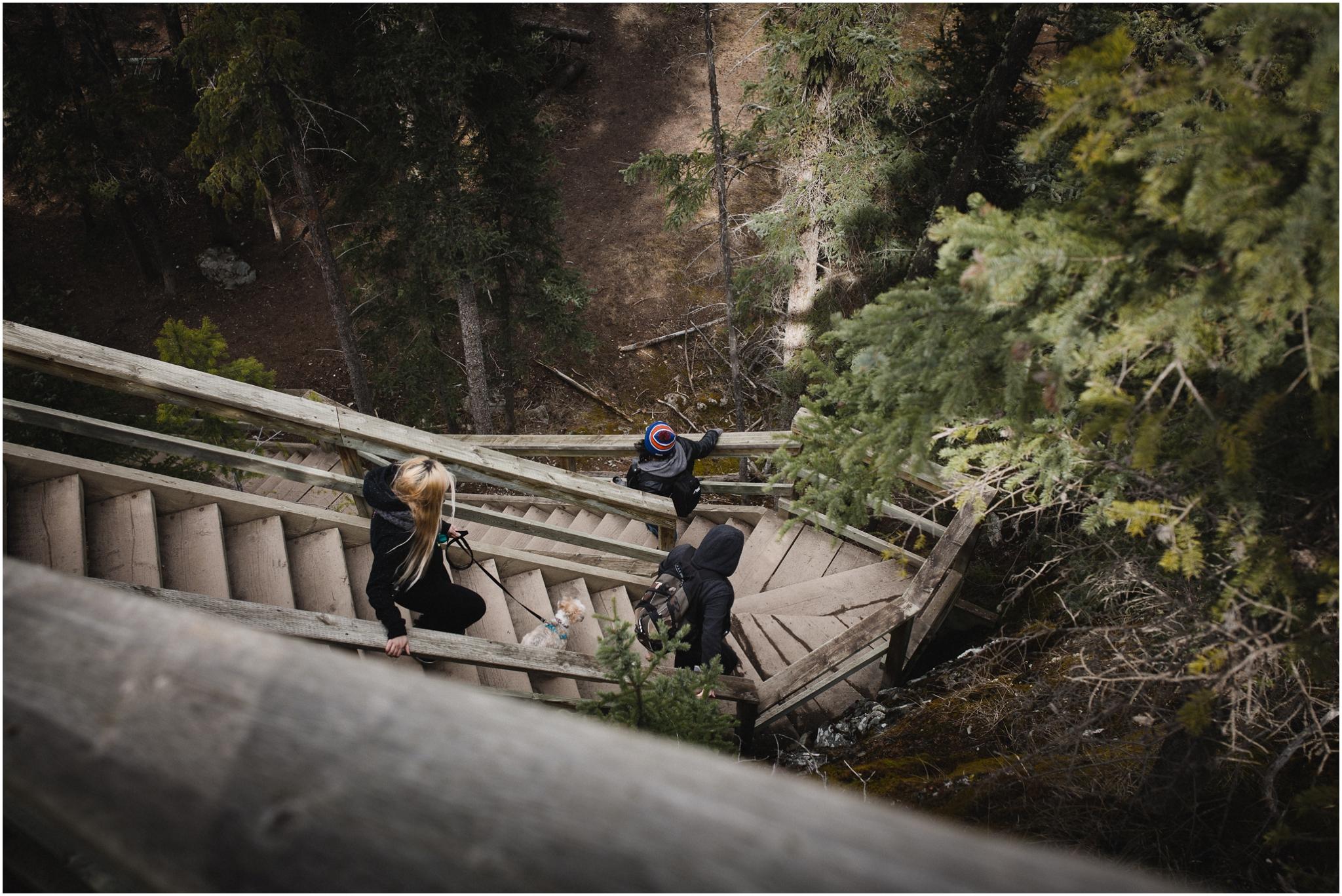 Edmonton Lifestyle Photographer - Old Fort Point Hike - Jasper Alberta - Jasper National Park - Treelines Photography