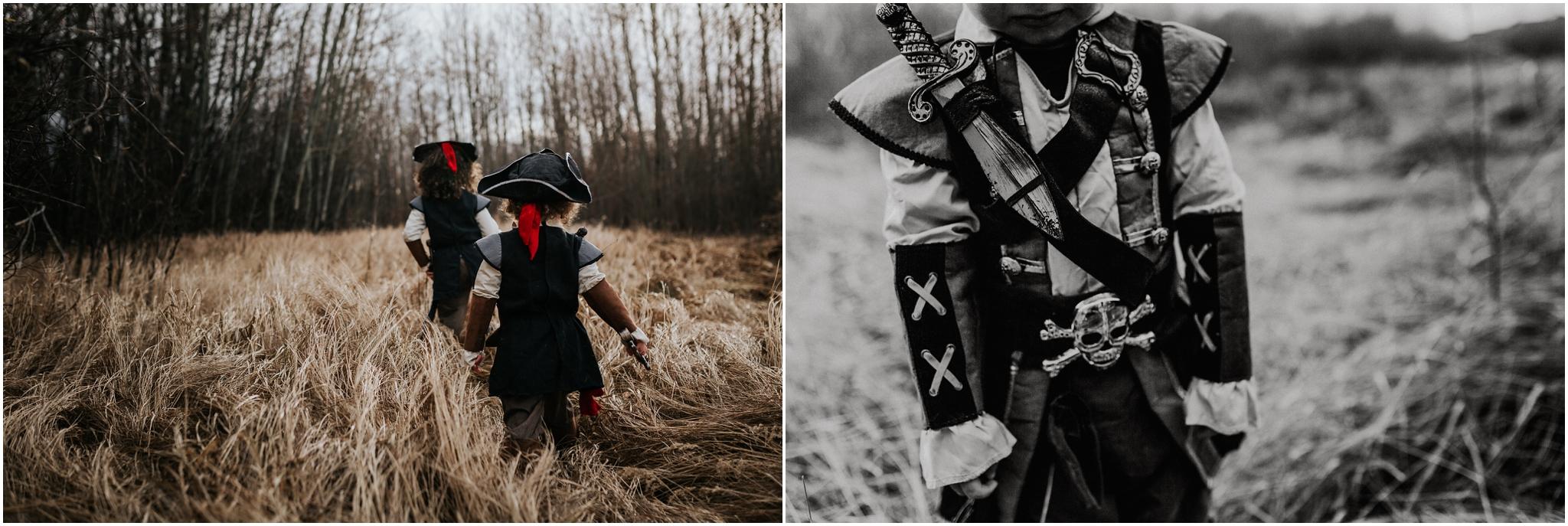 YEG Photographer - Lifestyle Documentary Photography - Halloween Costumes Pirate