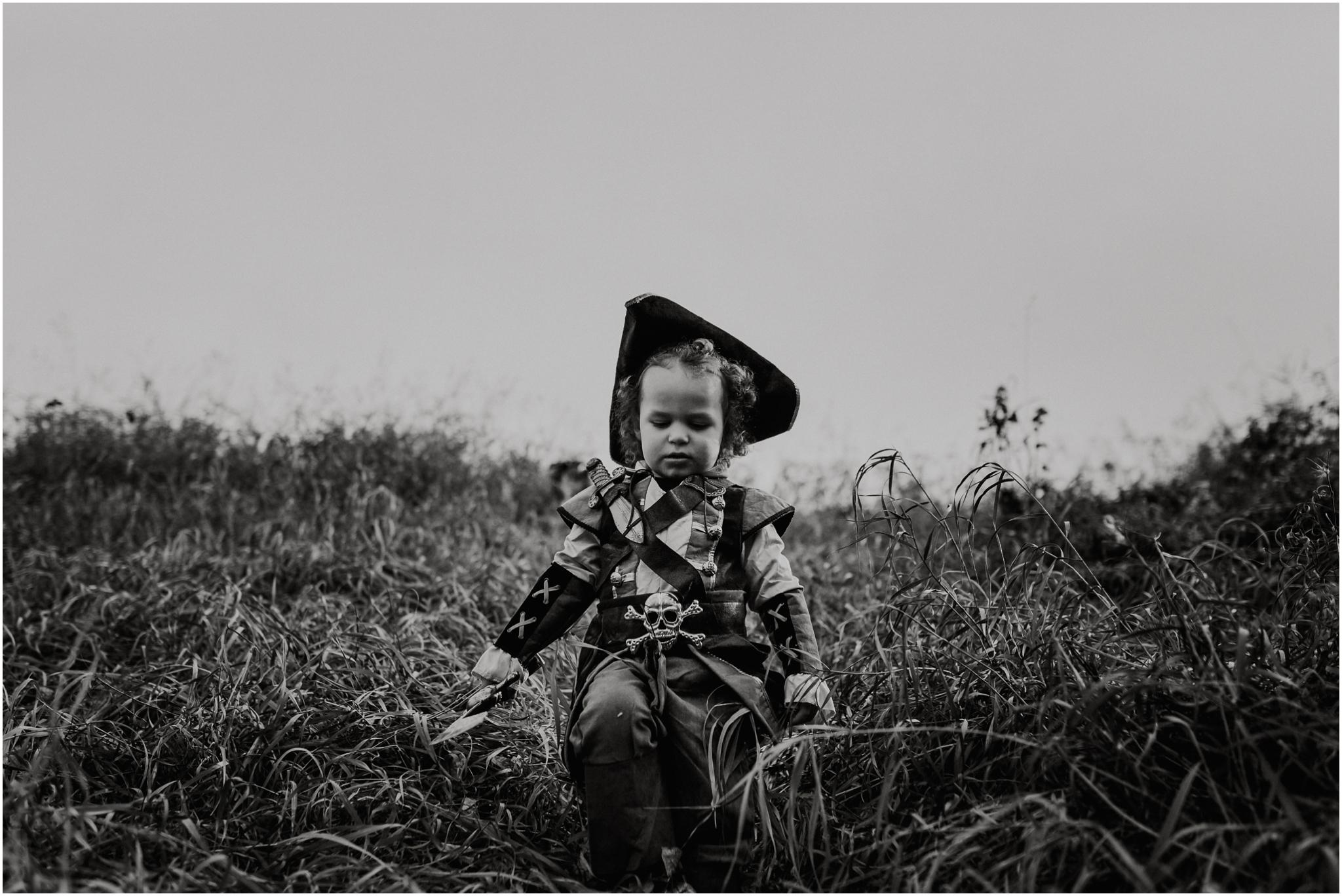 Edmonton Child Photographer - Pirate Costume - Halloween Costume