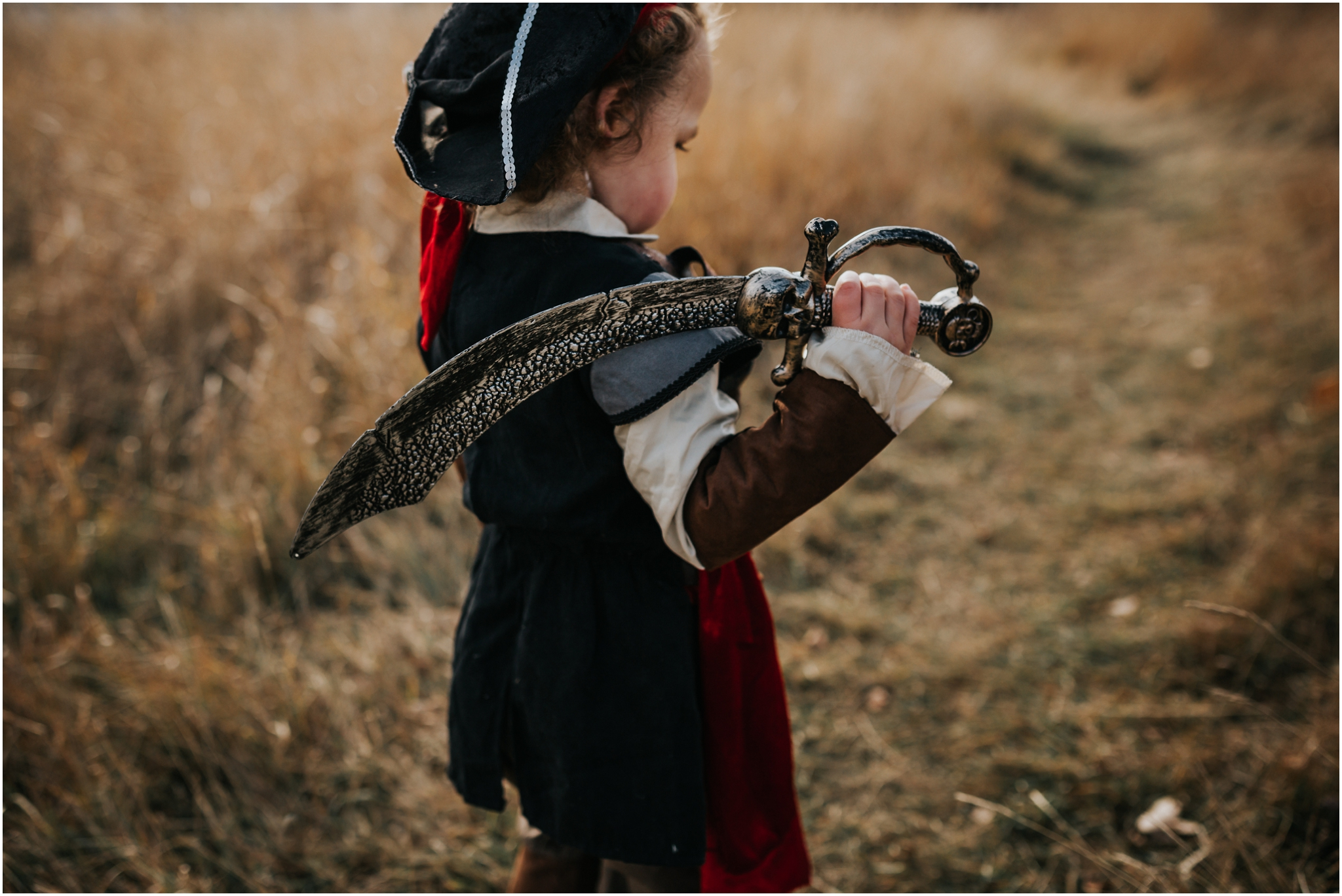 Edmonton Alberta Photographer - Family Photography - Lifestyle Photography - Documentary Photographer - Pirate Costume