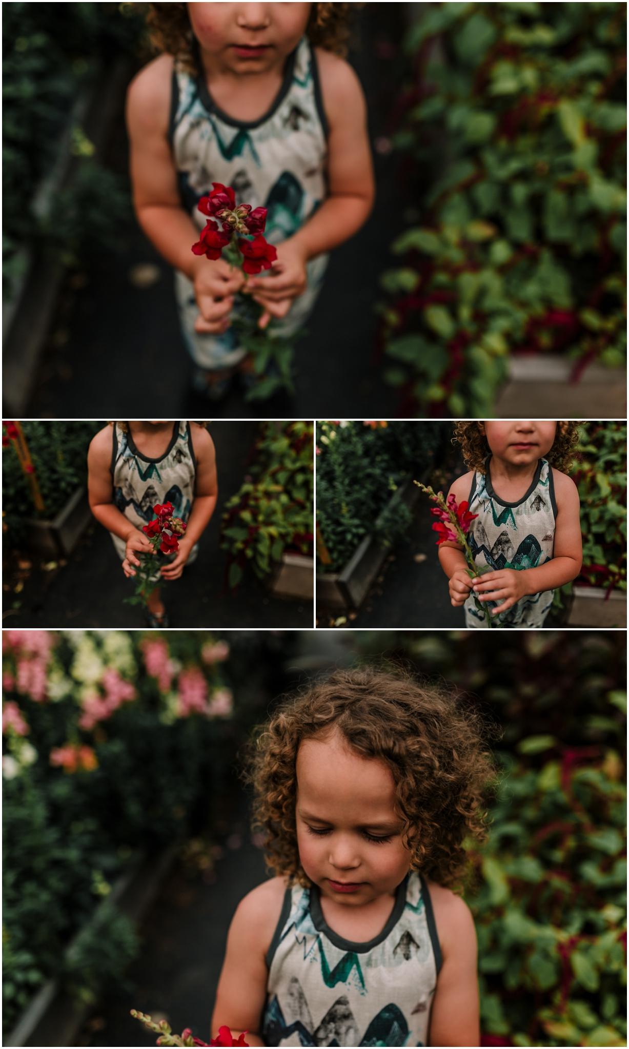 Edmonton Family Photographer - Lifestyle Photographer - Treelines Photography - Edmonton Flower Farm