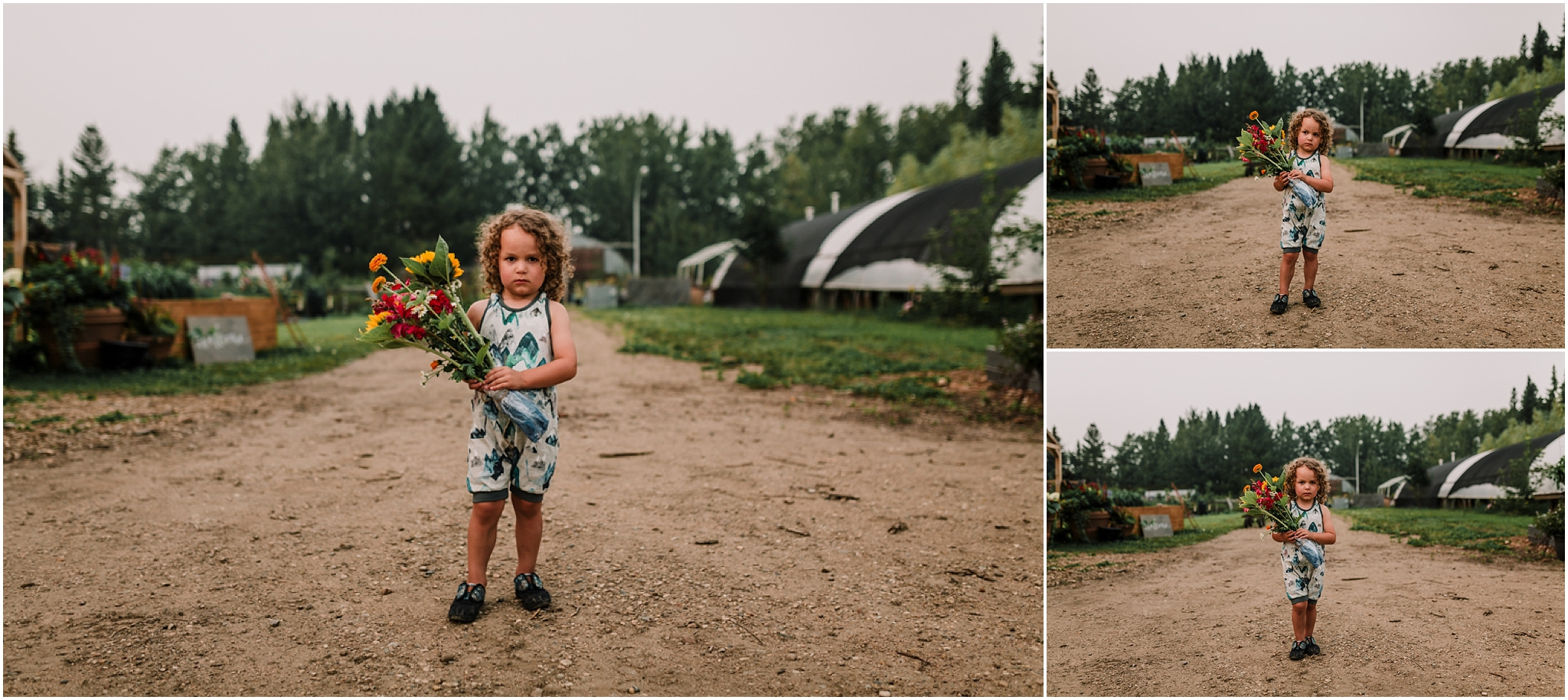 Treelines Photography - Edmonton Family Lifestyle Photography - Flower Farm - Bouquet