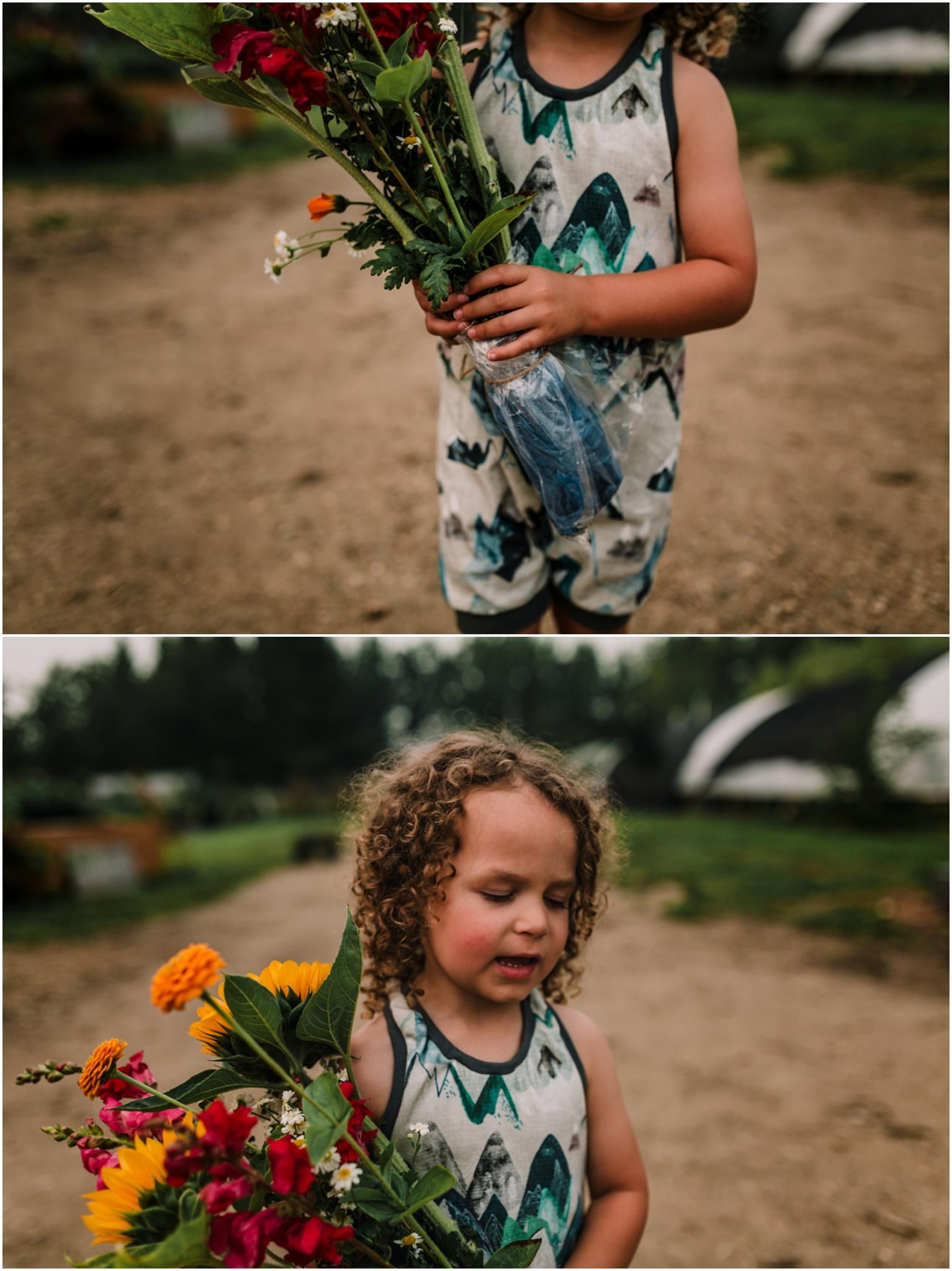 Treelines Photography - Edmonton Family Lifestyle Photography - Edmonton Flower Farm
