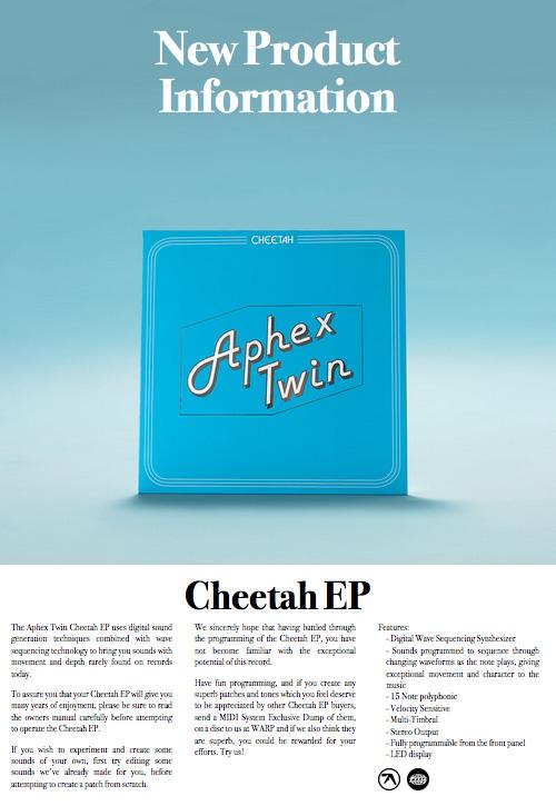 Cheetah EP poster