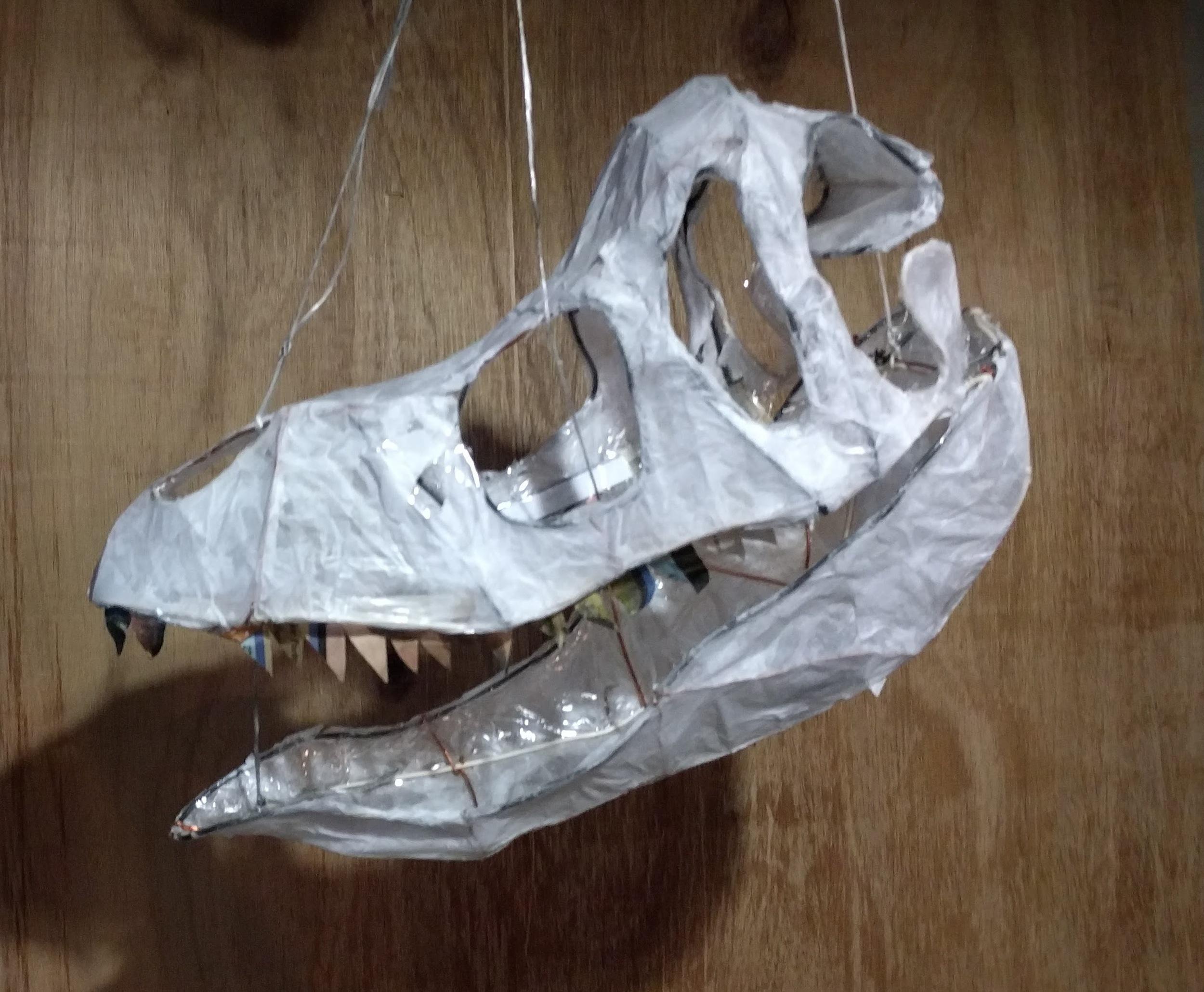 """""""Dino Skull"""" (2015)"""