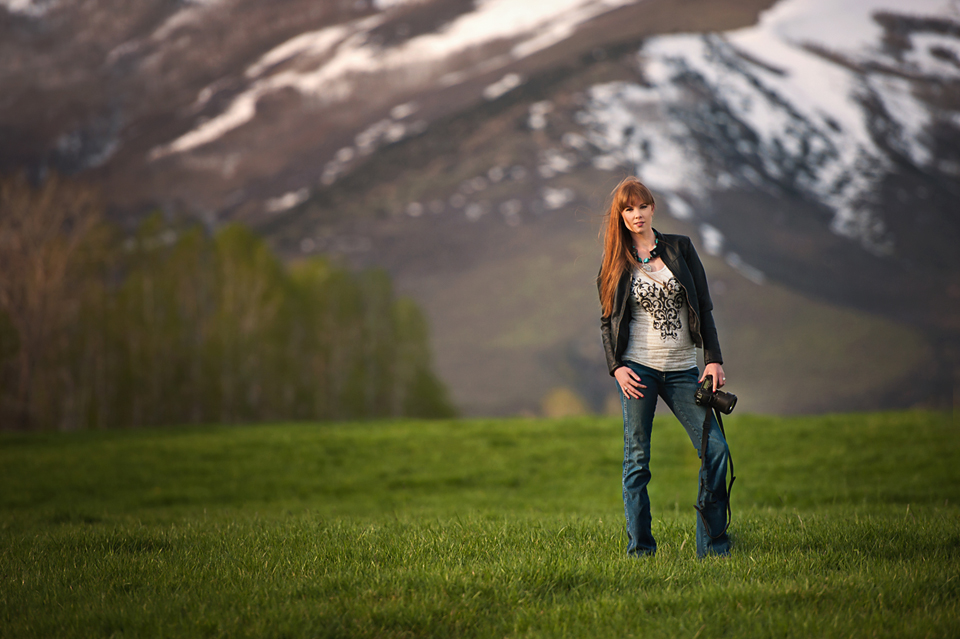 photographer by mountain