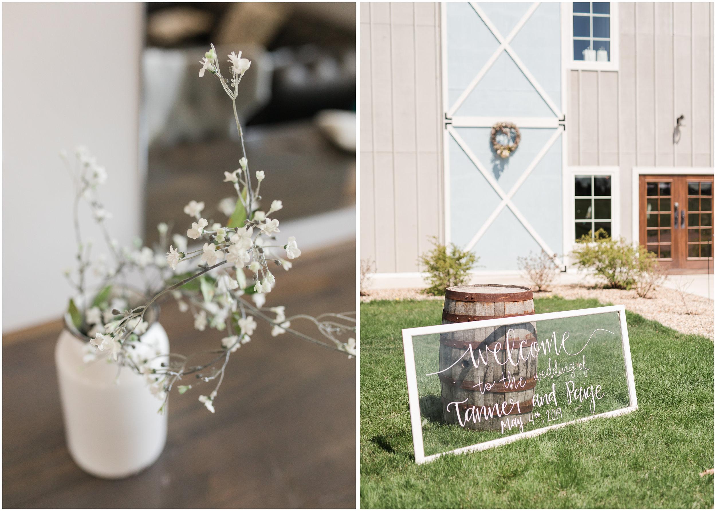 Blue Haven Barn Sioux Falls South Dakota Spring Wedding