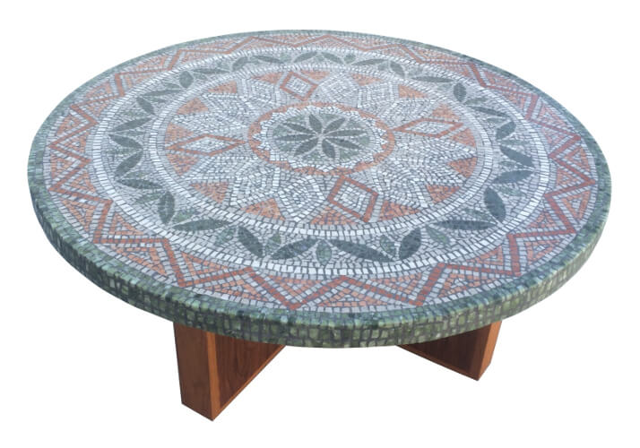 Mosaic tabletop - stone