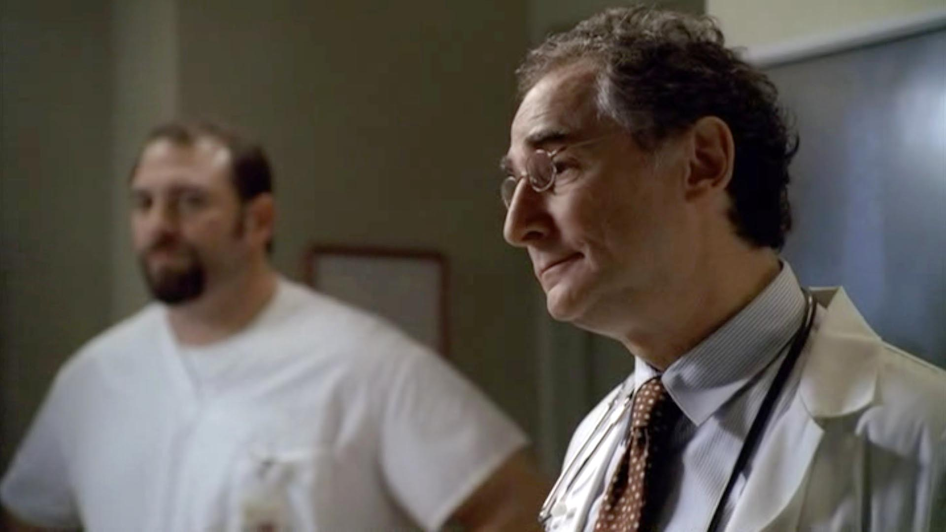 As Dr. Mandl in THE SOPRANOS.