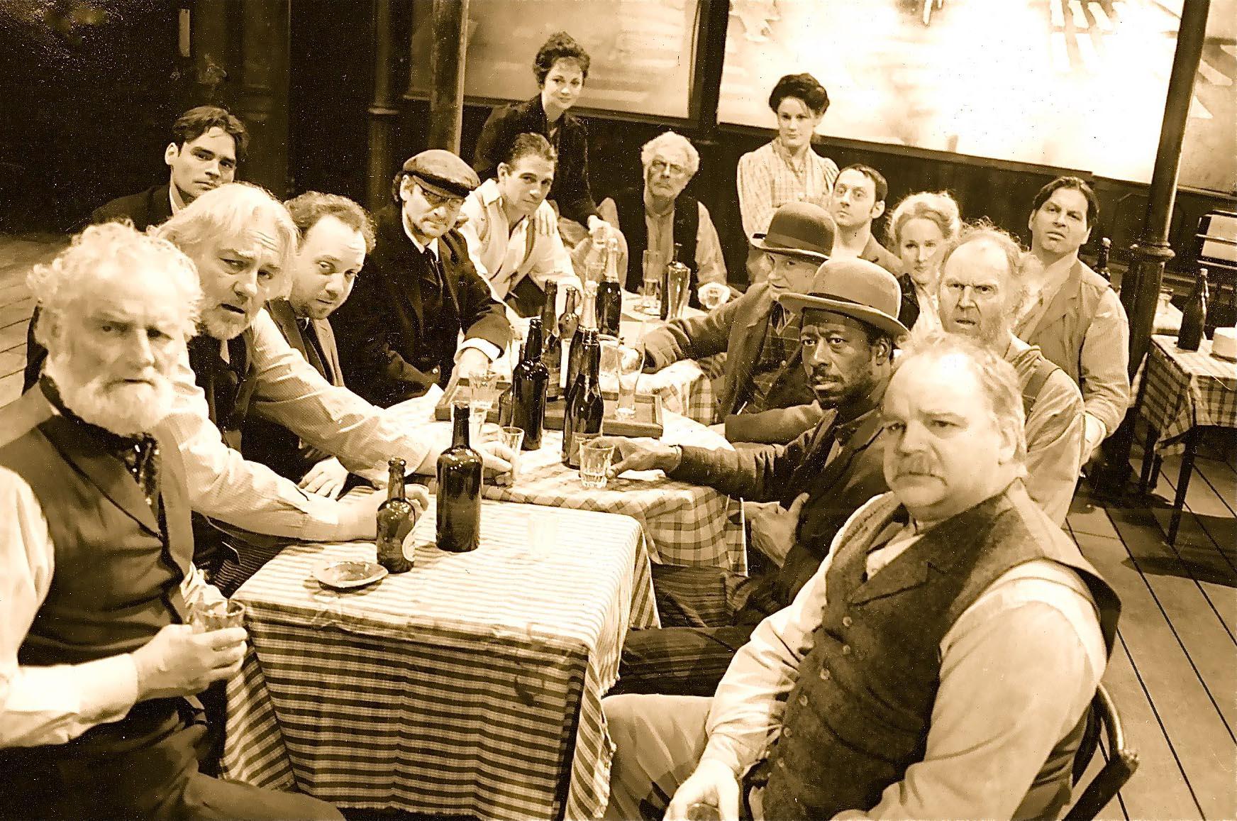 As Hugo in THE ICEMAN COMETH on Broadway, with Paul Giamatti, Tony Danza, and Robert Sean Leonard and Tim Pigott-Smith
