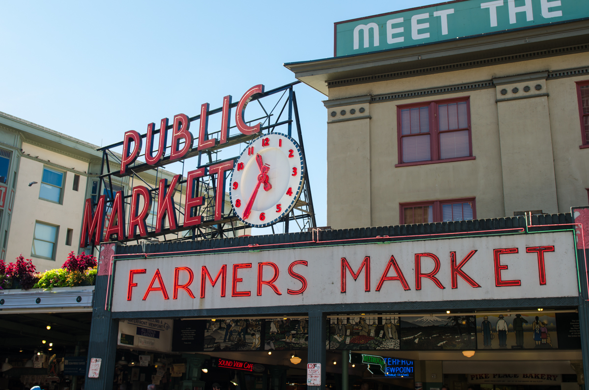 Pike Place Market in Seattle Washington