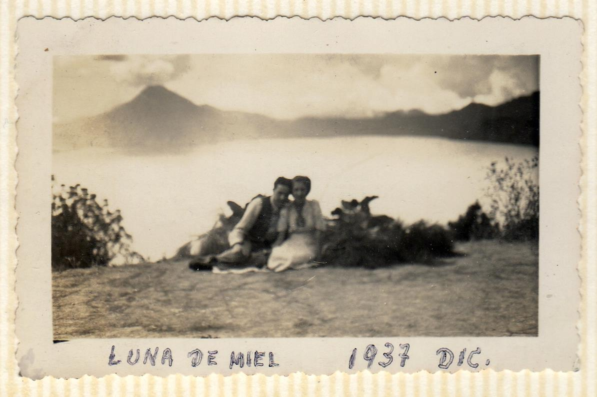Honeymoon: Lake Atitlán, Guatemala.