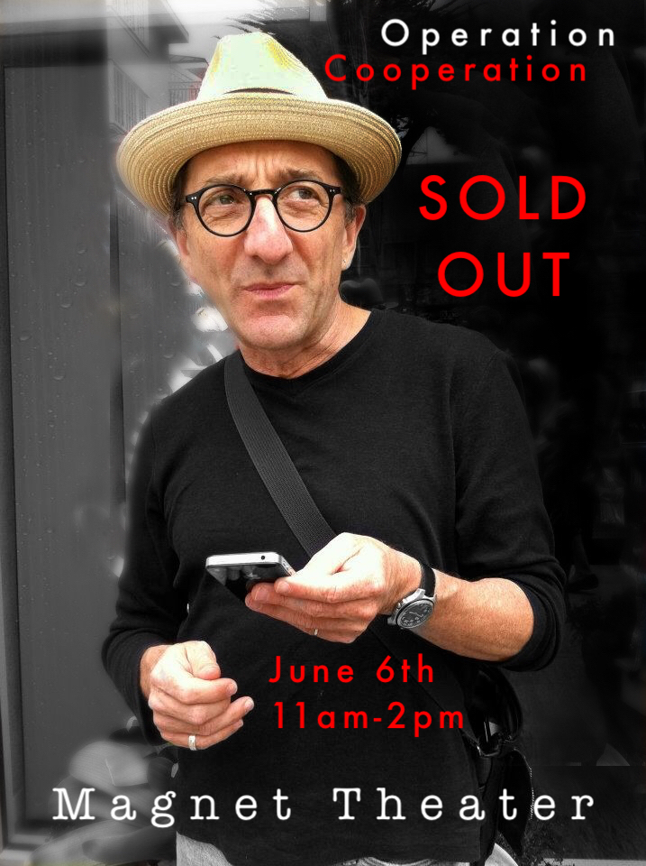 We're sold out! Fret not, for I'll be coming back your way in November, New York. Stay Tuned