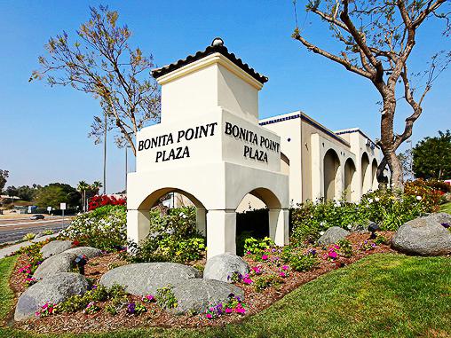Renovation construction to bonita point plaza