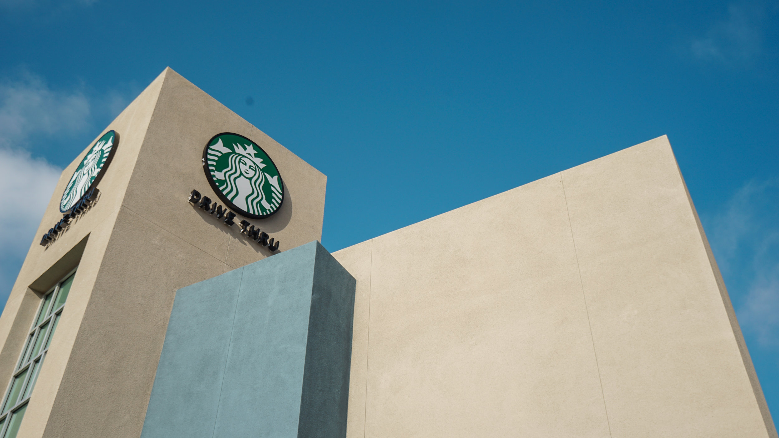 Starbucks built by K.D. Stahl Construction