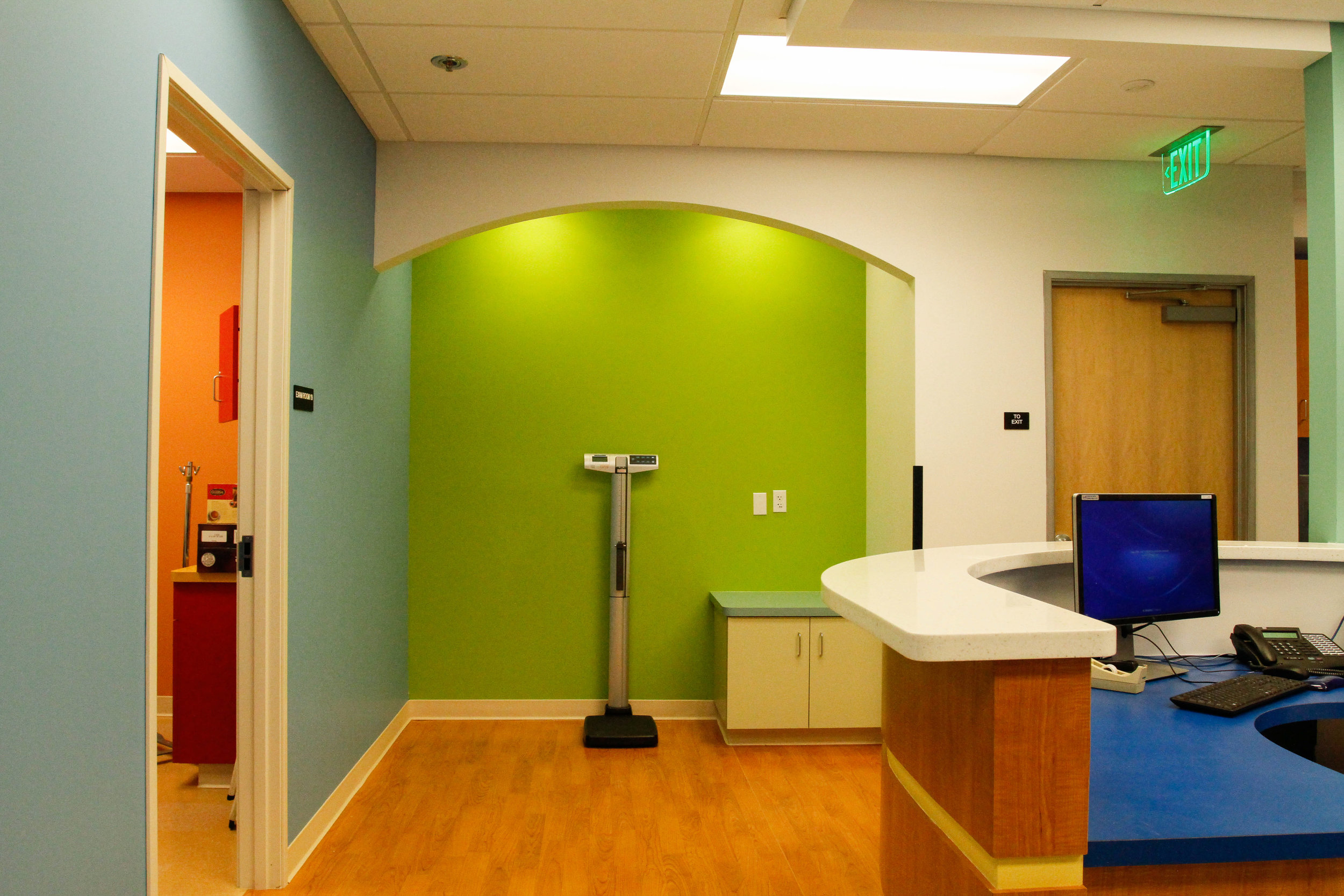 Tenant Improvement Construction for Rady's Childrens Clinic