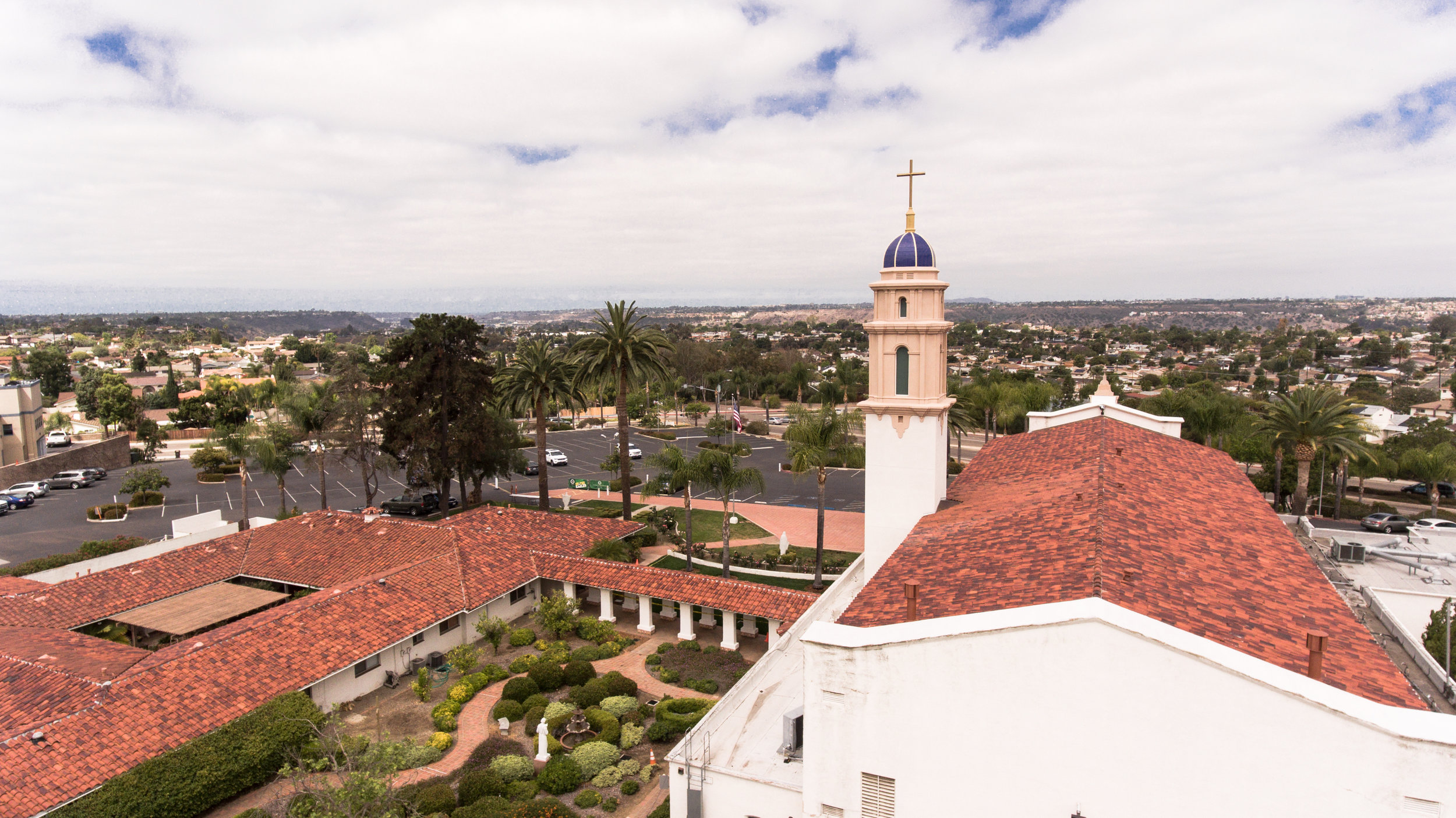 St. Therese Parish Restoration Construction in San Diego