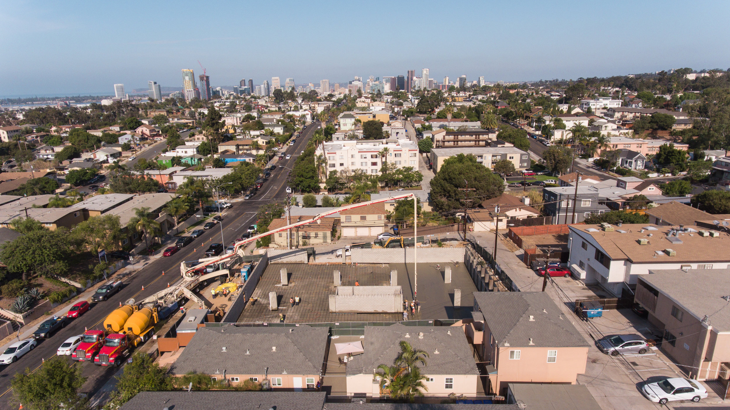 K.D. Stahl Construction Group Inc. - Broadway Apartments Construction in San Diego California