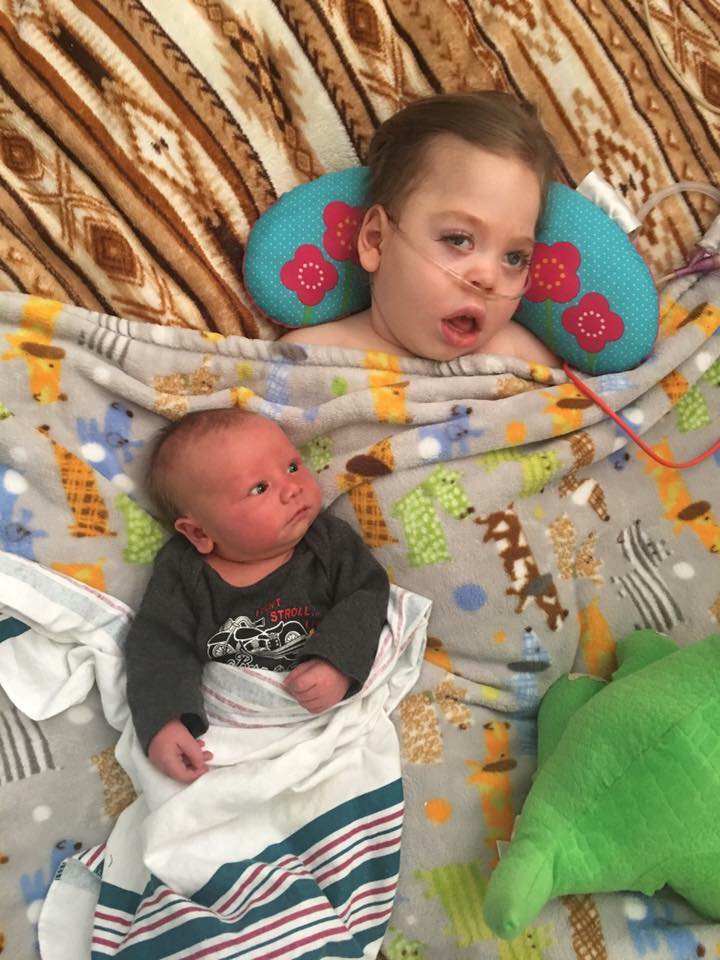 Jude with little brother Jackson.