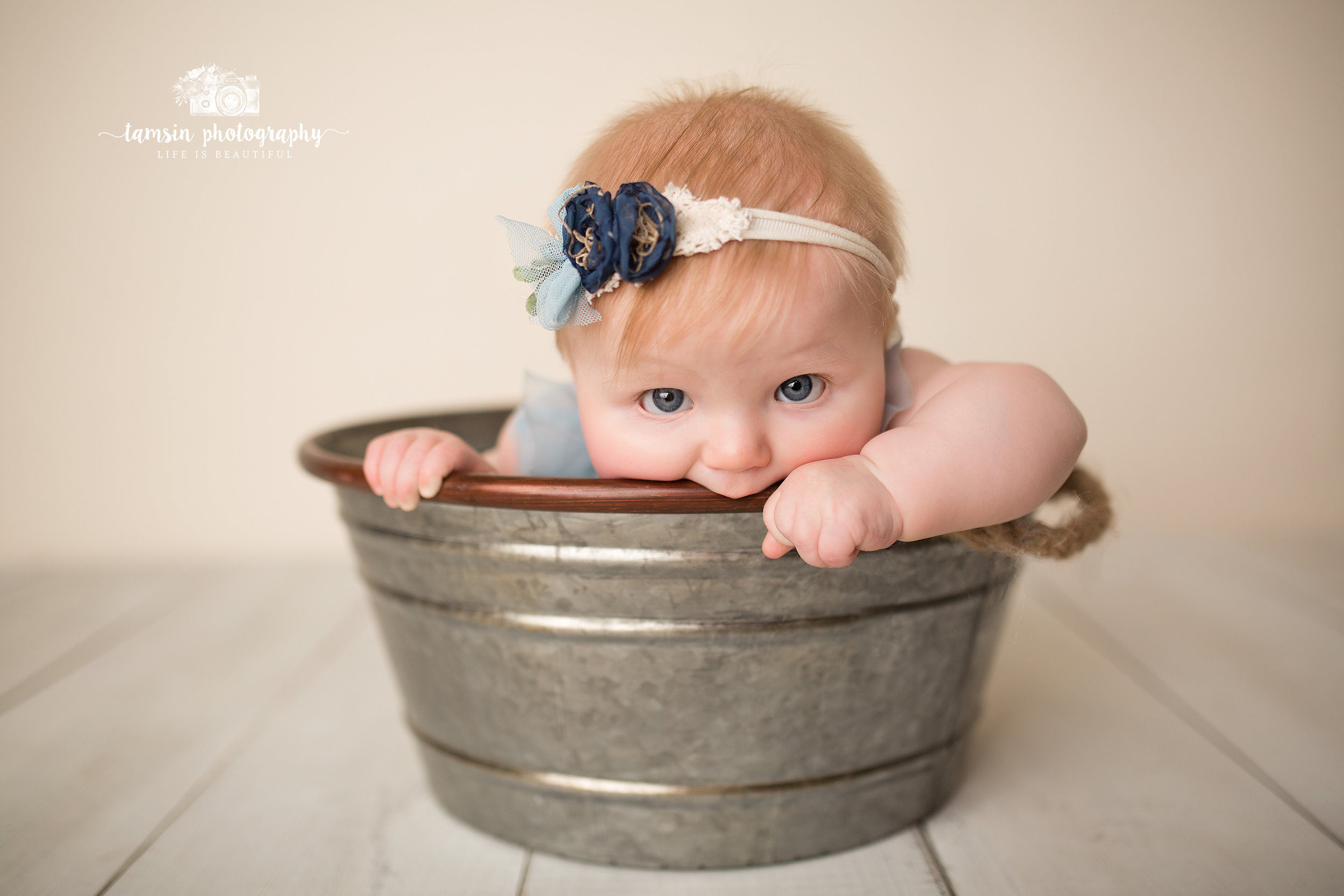 Six Month Portraits Sitter Session Kids Photography Photographer Florida Brevard Tamsin.jpg