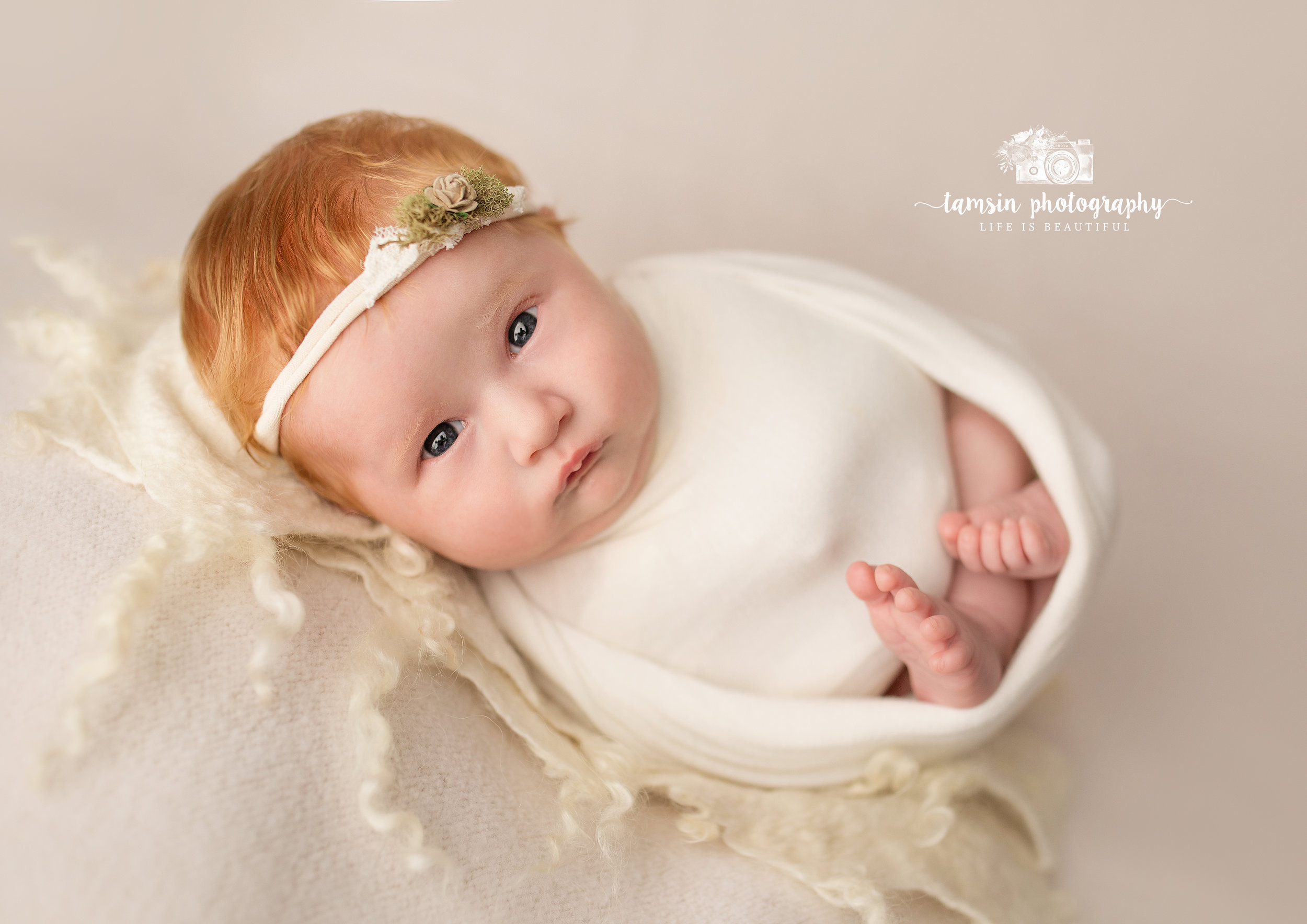 Newborn Red Hair Womb Wrap Tamsin Photography.jpg