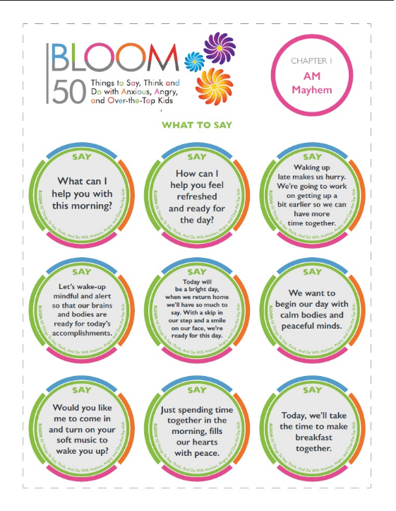 Bloom Mantra Cards