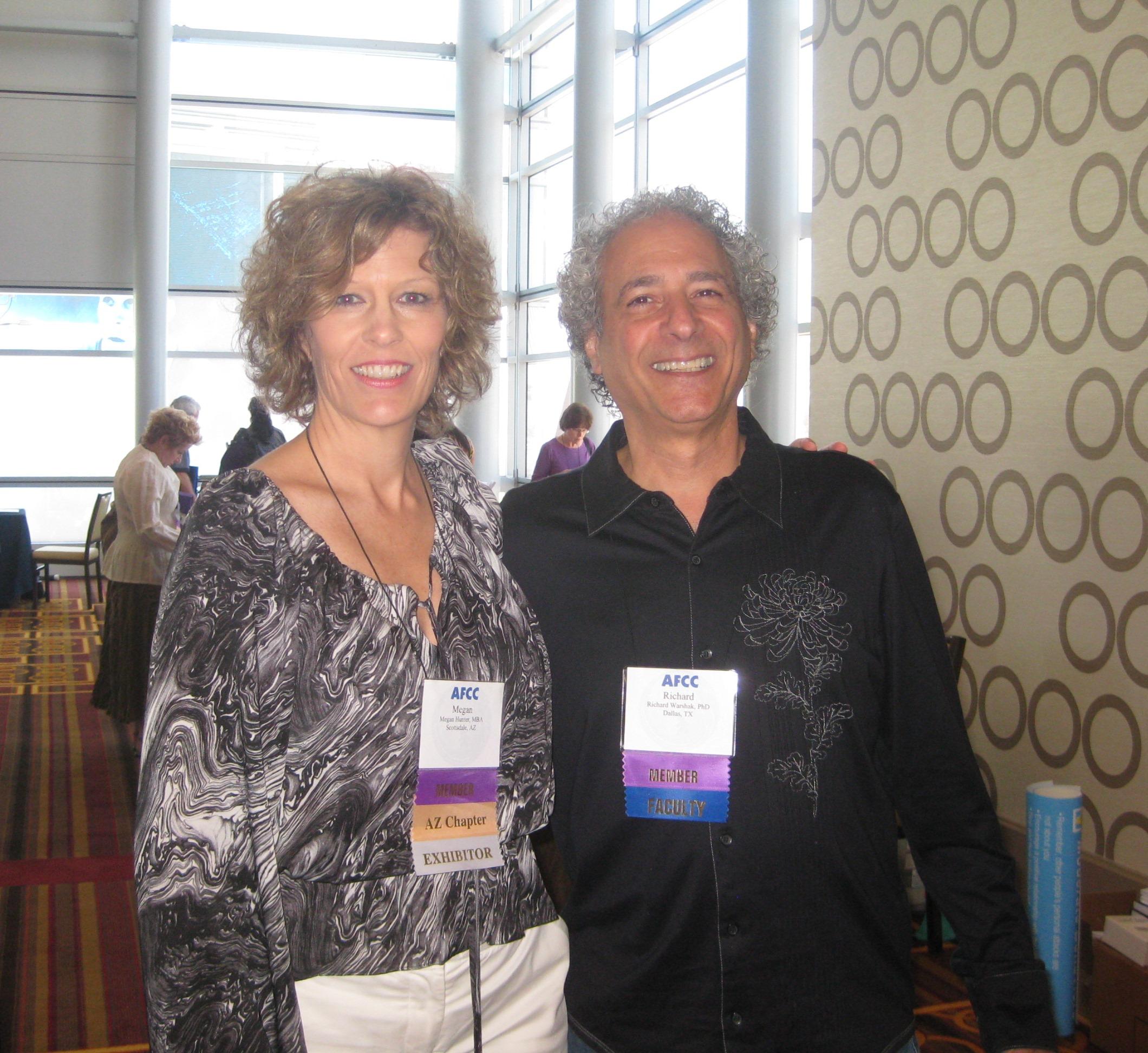 Megan Hunter & Richard Warshak