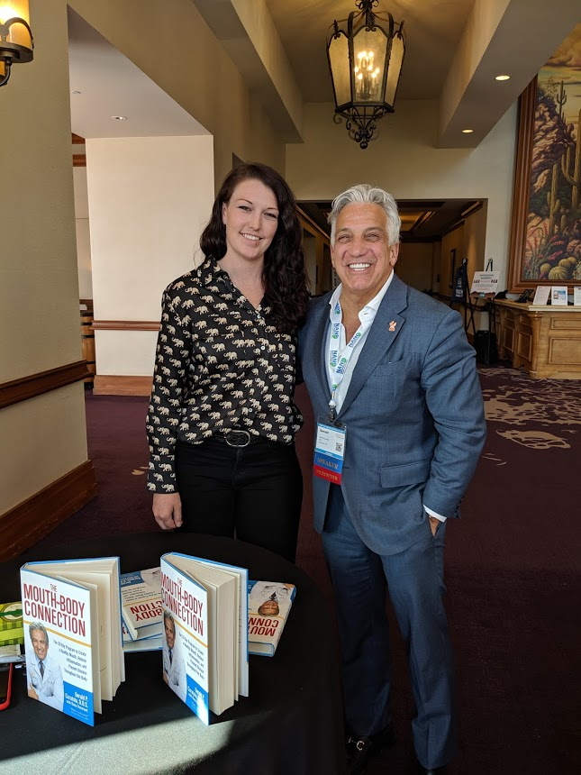 Dr. Curatola, author of  The Mouth-Body Connection  with Liz Hunter, NANP 2019
