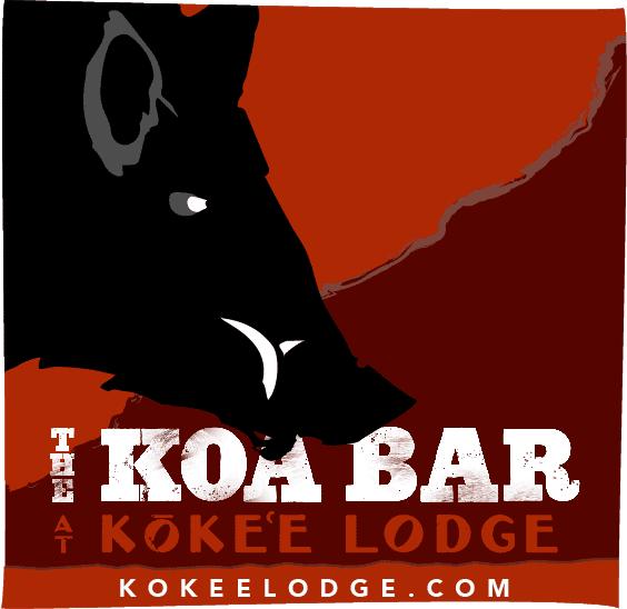 The Koa Bar at Kōkeʻe Lodge