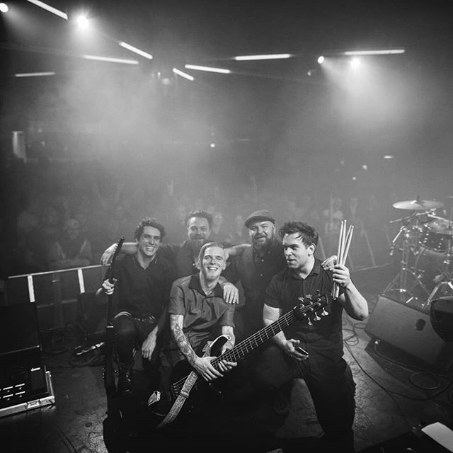*Selfie Warning ⚠* What a night it was at the @tesseractband show.  We love what we do, can't wait to see you all again soon to rock it out in 2018!  Are there any bands you think we should be playing with soon?