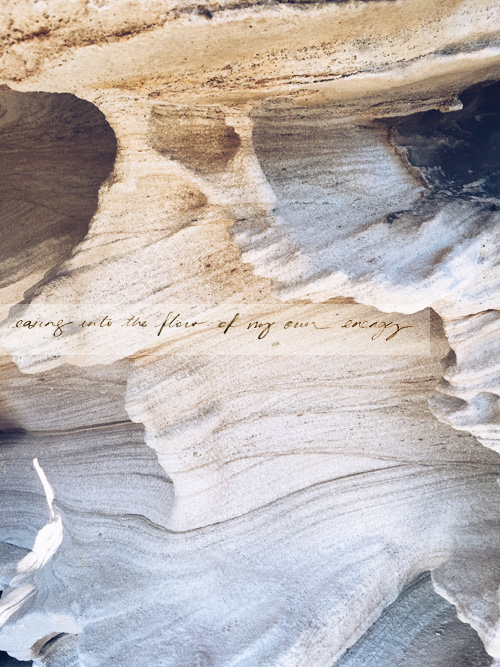 """""""easing into the flow of my own energy"""", my mantra for this October."""