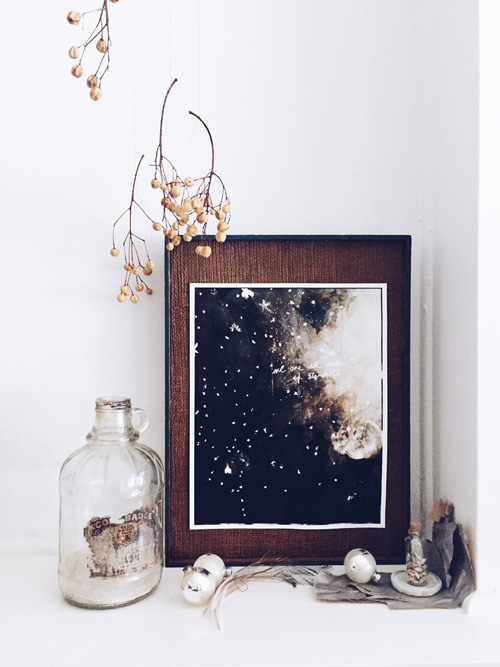Stardust photographic print , limited edition, 11 x 14 inches