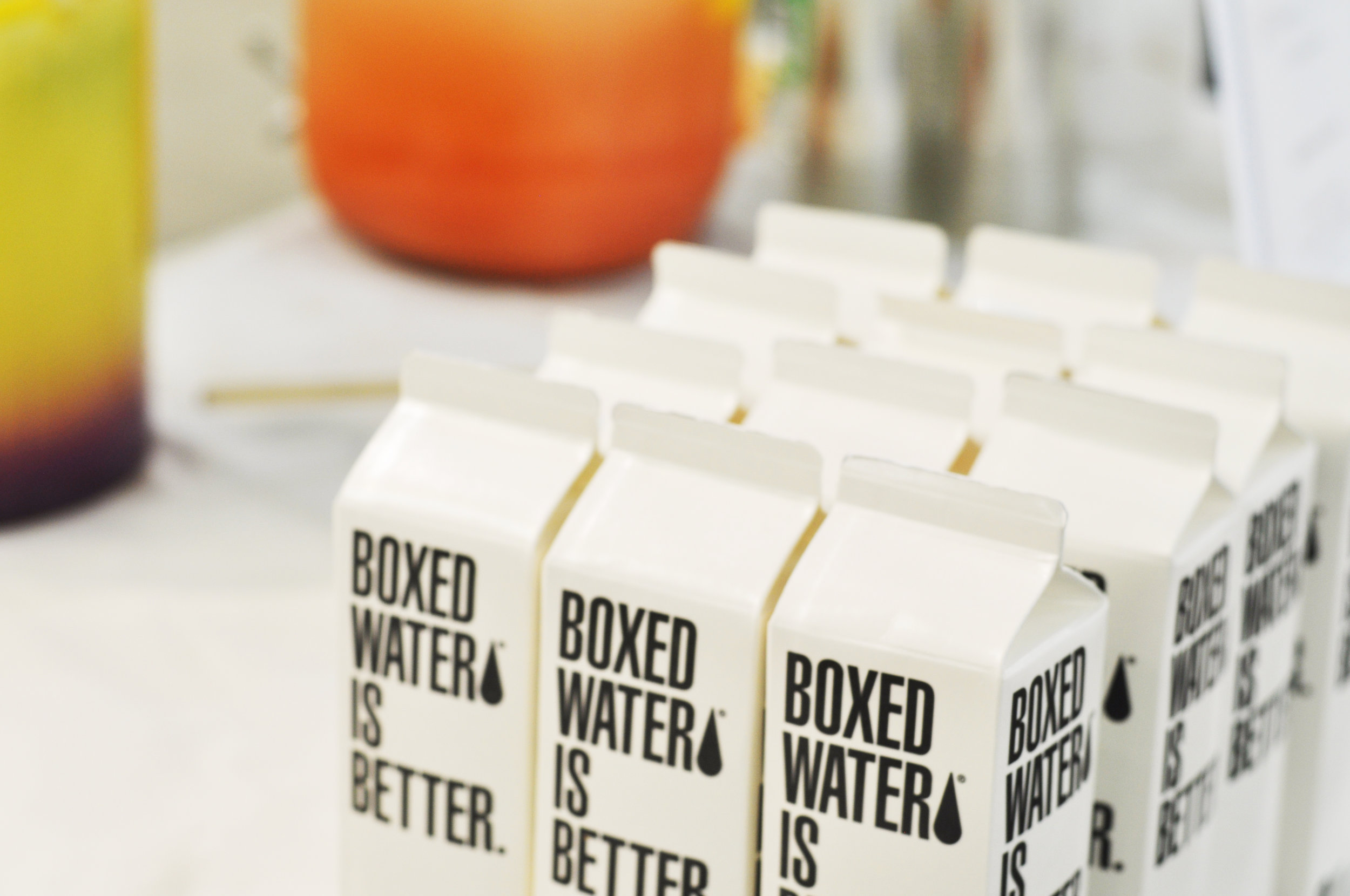 A beautiful shot by Stefan Grant of Boxed Water, which is better :)