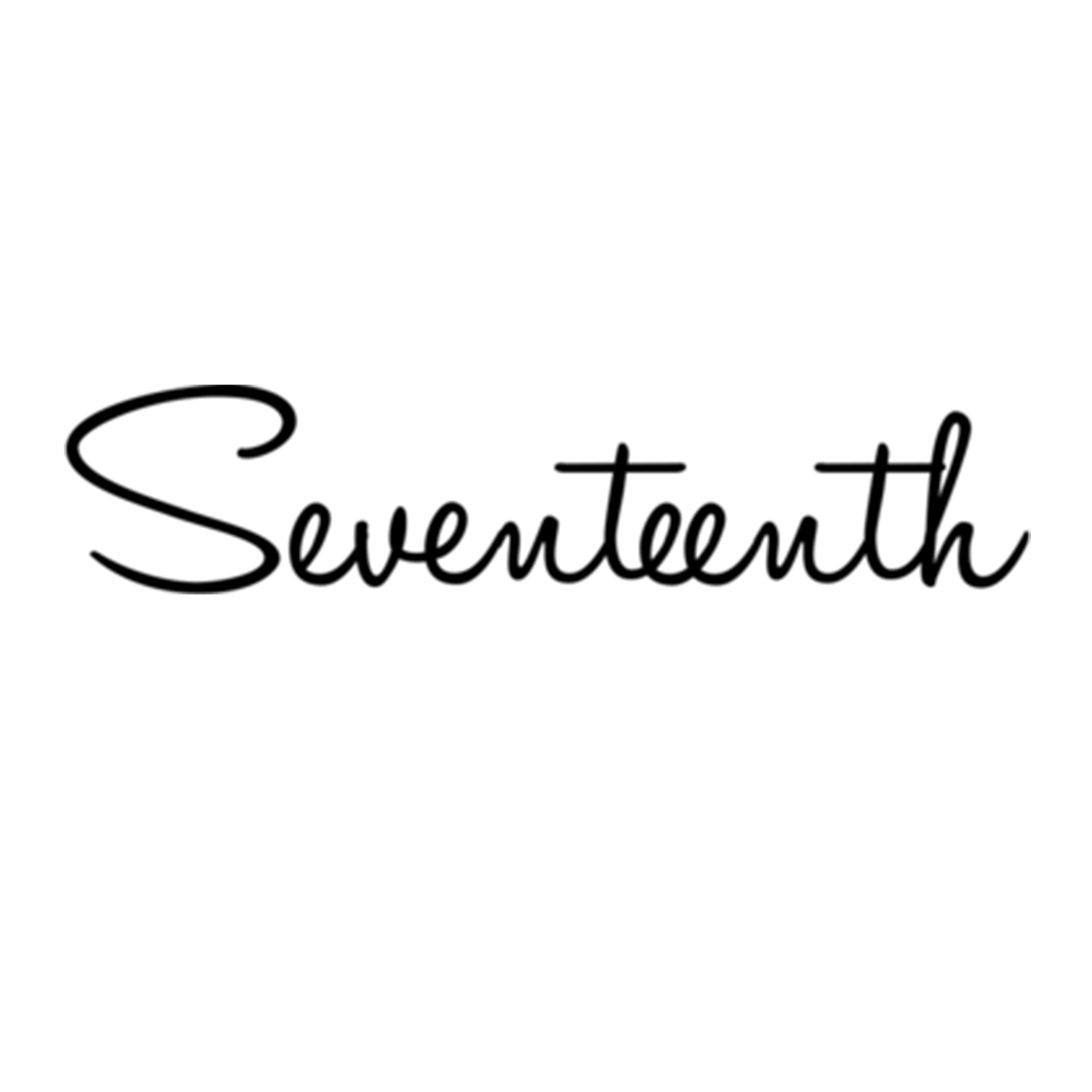 [ SEVENTEENTH WATCHES  ]