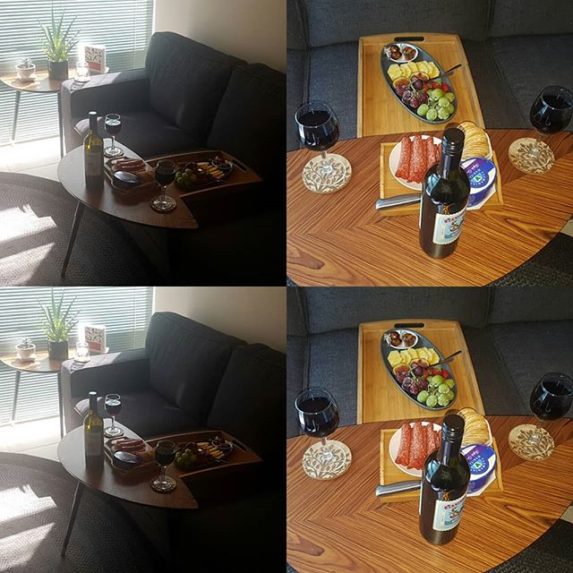 Yummy platter and red wine for our awesome client's 🍇🍓🧀🍷🍫🍪 Why not add a platter to enjoy after your spa treatment 😍  #yummyplatters #foodgasm #massages #freshfruit #relaxing #couples #couplesspapackage #couplesmassage #doubleroom #newleafdayspa #perthdayspa #bibralake