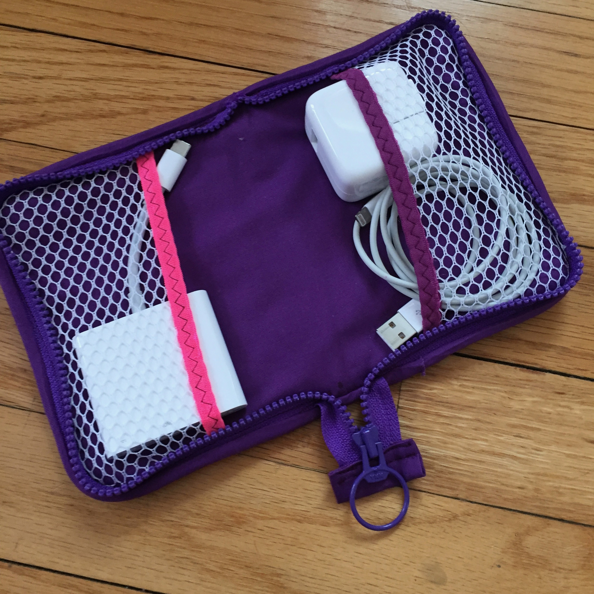 The Tech Accessory Case  by Indygo Junction - easy and perfect!