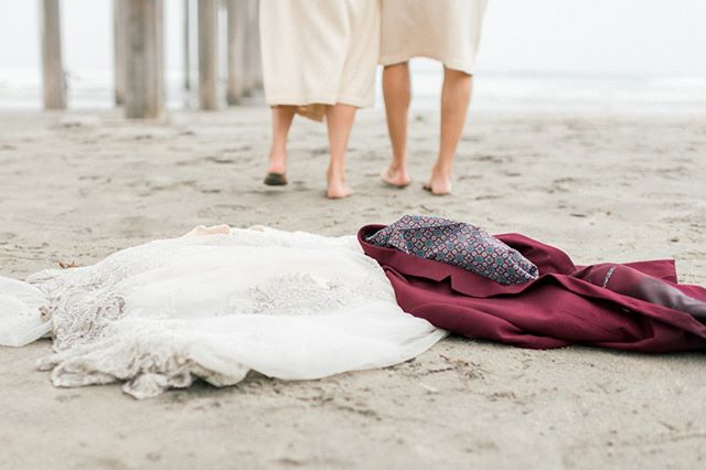 Be sure to bring matching bath robes to warm up in if you're going to jump around in the Pacific Ocean at 6AM in your wedding attire.⠀ ⠀ ⠀ ⠀ ⠀ ⠀ ⠀ ⠀ #weddinginspo #weddingdetails #theknot #spainweddingphotographer #santabarbaraweddingphotographer #realwedding #pursuepretty #portugalweddingphotographer #palmspringsweddingphotographer #mexicoweddingphotographer #luxurywedding #fineartweddingphotography #fineartweddingphotographer #fineartphotography #fineartfilm #destinationwedding #charlestonweddingphotographer #californiaweddingphotographer #brideandgroom #brazilweddingphotographer